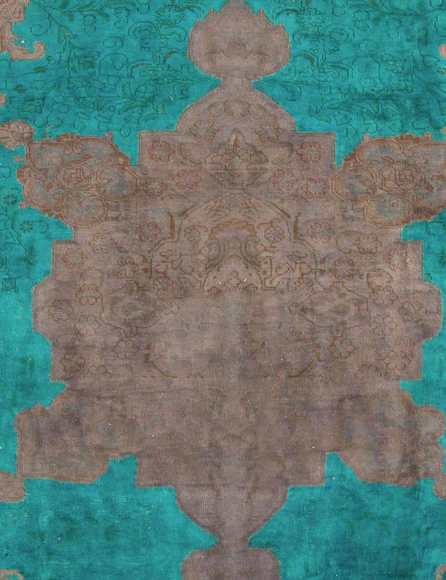 Vintage Teppich  grün <br/>302 x 202 cm