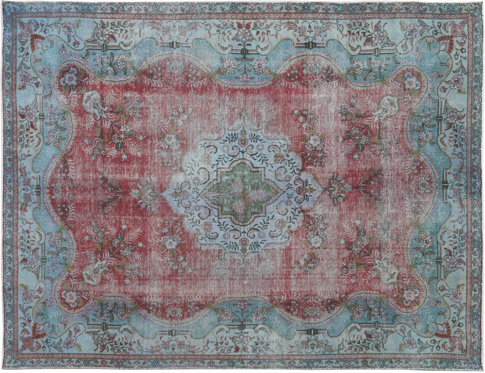 Tappeto Vintage  blu <br/>320 x 230 cm