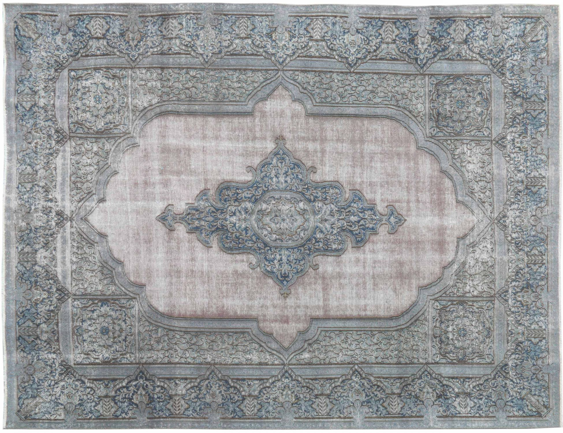 Tappeto Vintage  blu <br/>409 x 285 cm