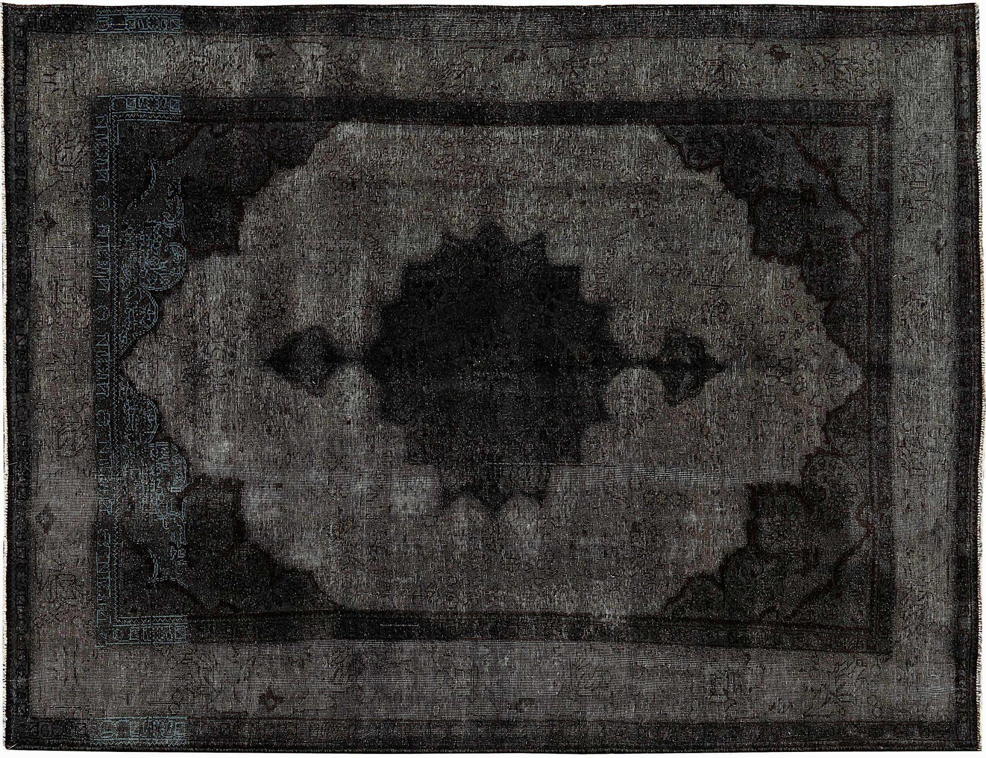 Vintage Teppich  schwarz <br/>302 x 205 cm