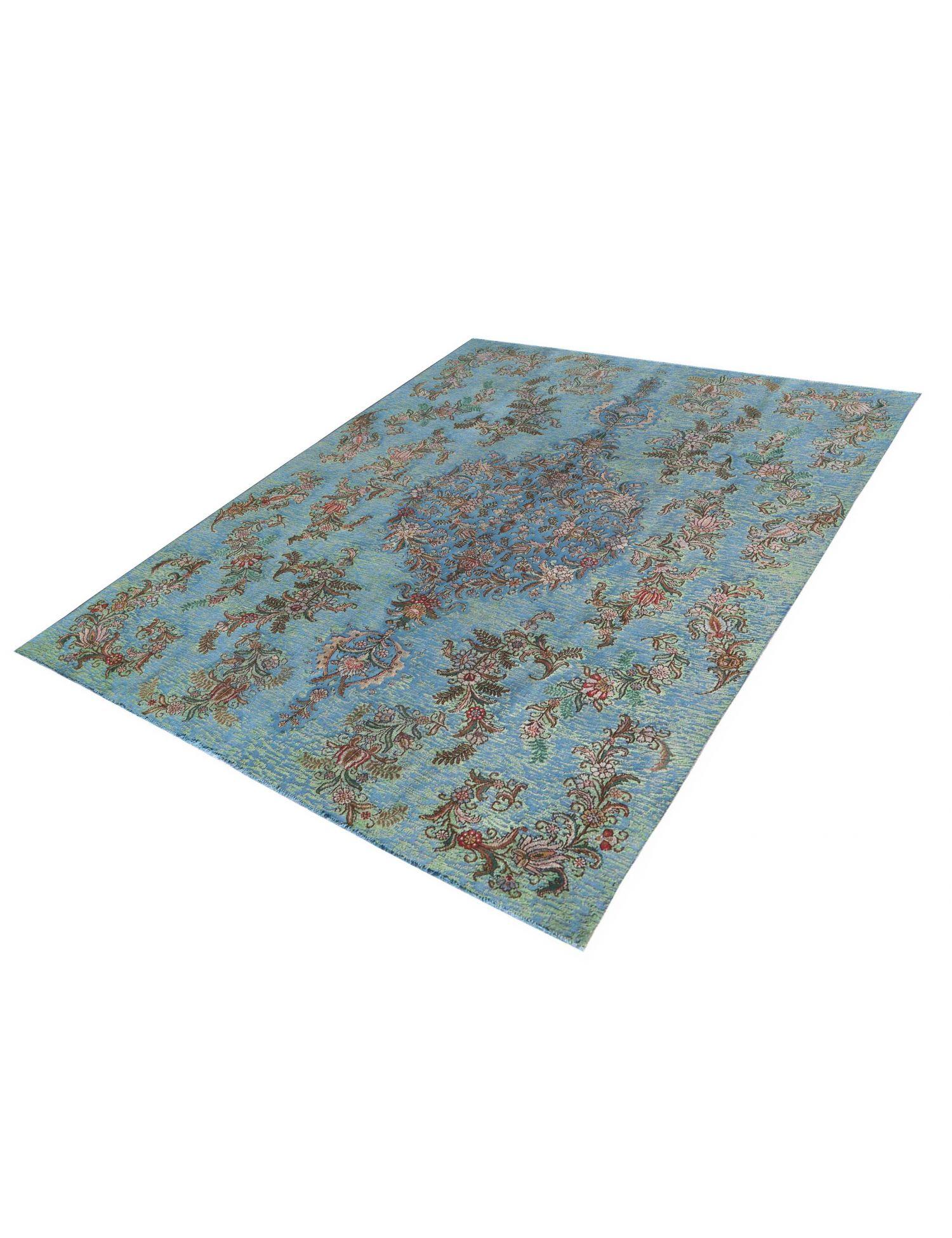 Retro Perserteppich  blau <br/>338 x 243 cm
