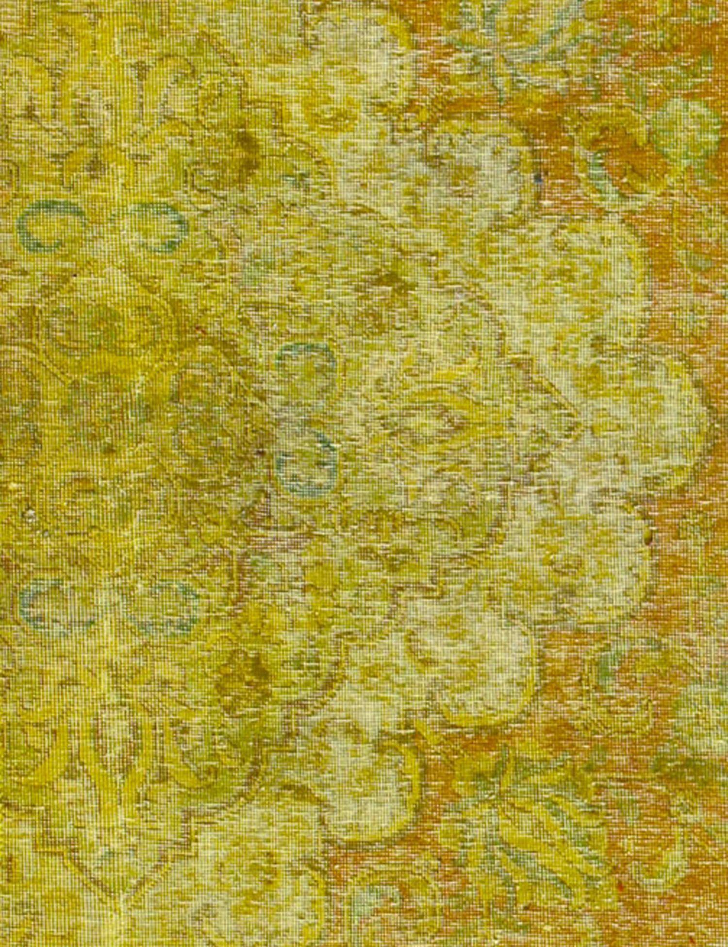 Vintage Teppich  gelb <br/>373 x 92 cm