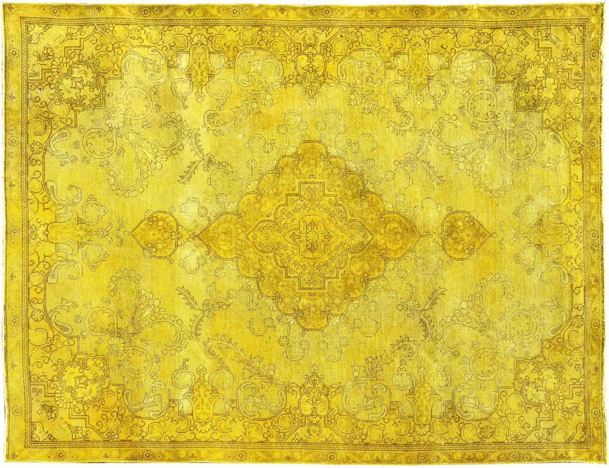 Vintage Teppich  gelb <br/>328 x 230 cm