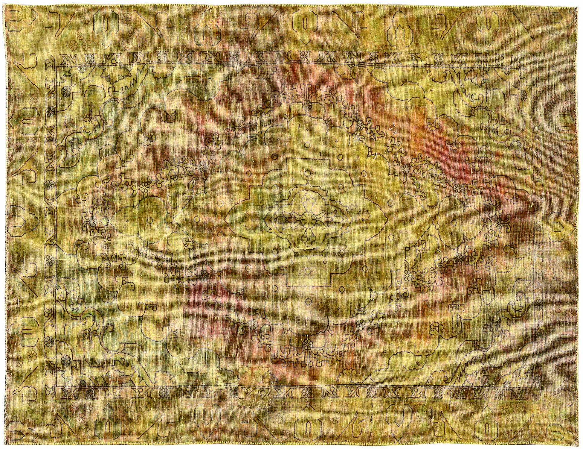 Vintage Teppich  gelb <br/>266 x 180 cm