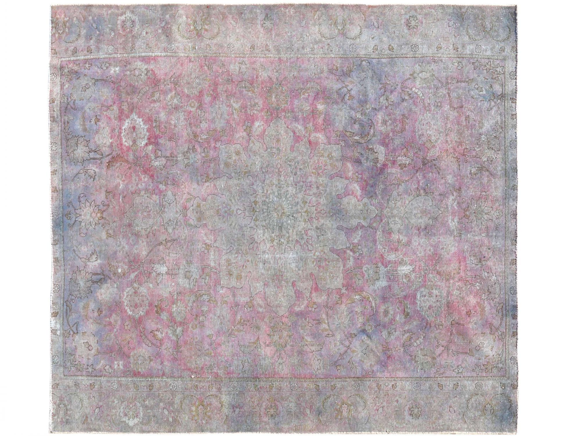Tappeto Vintage  blu <br/>264 x 230 cm