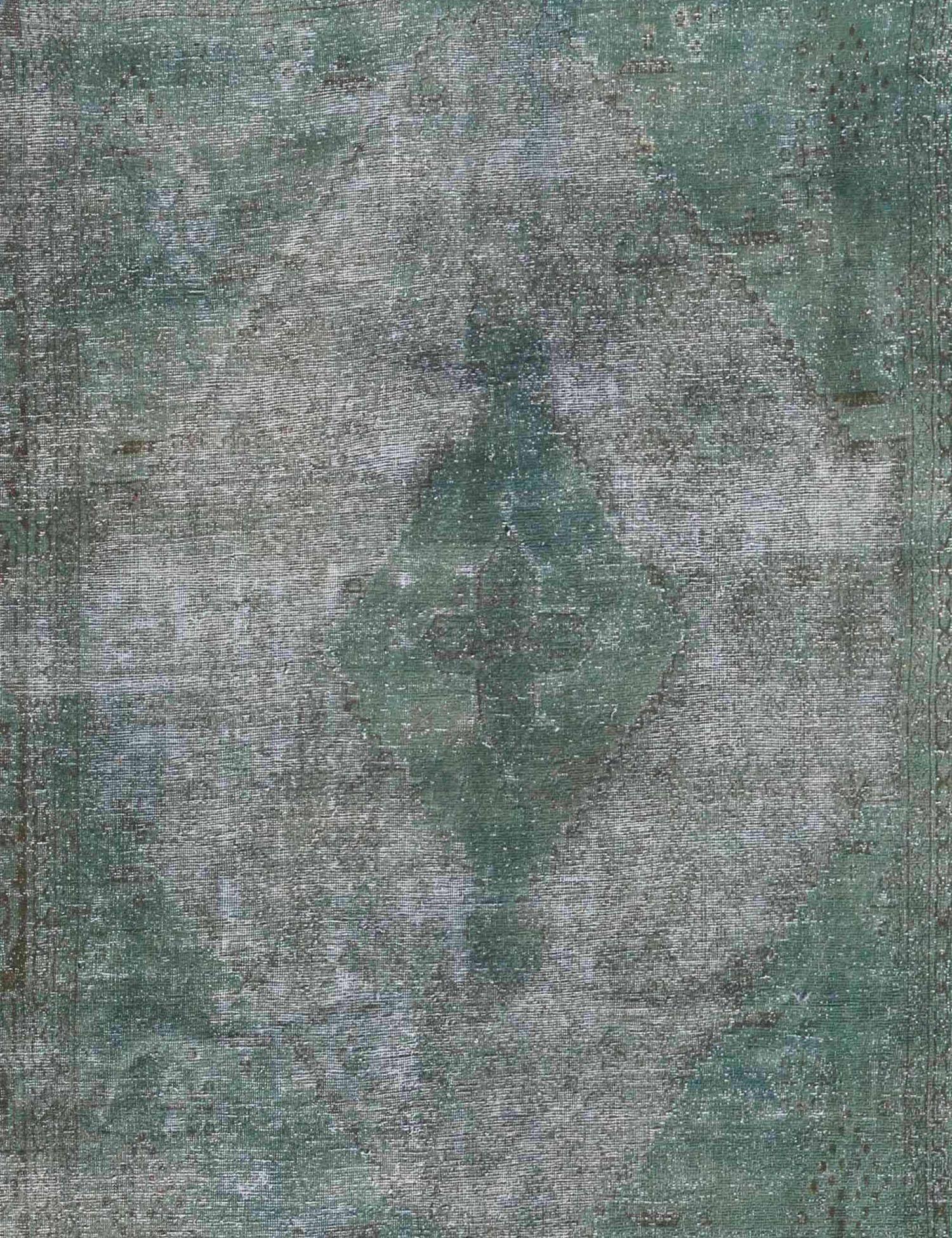 Vintage Teppich  grün <br/>294 x 226 cm