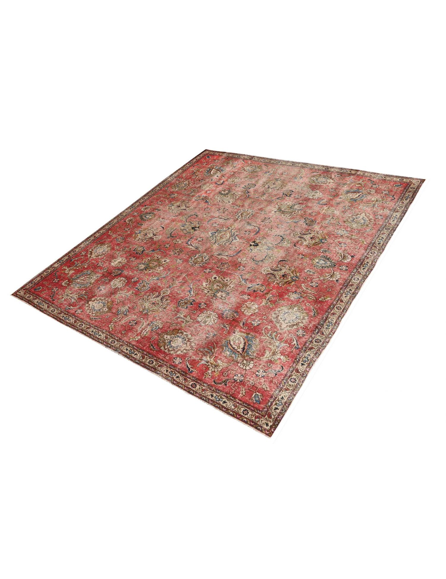 Retro Perserteppich  rot <br/>296 x 258 cm