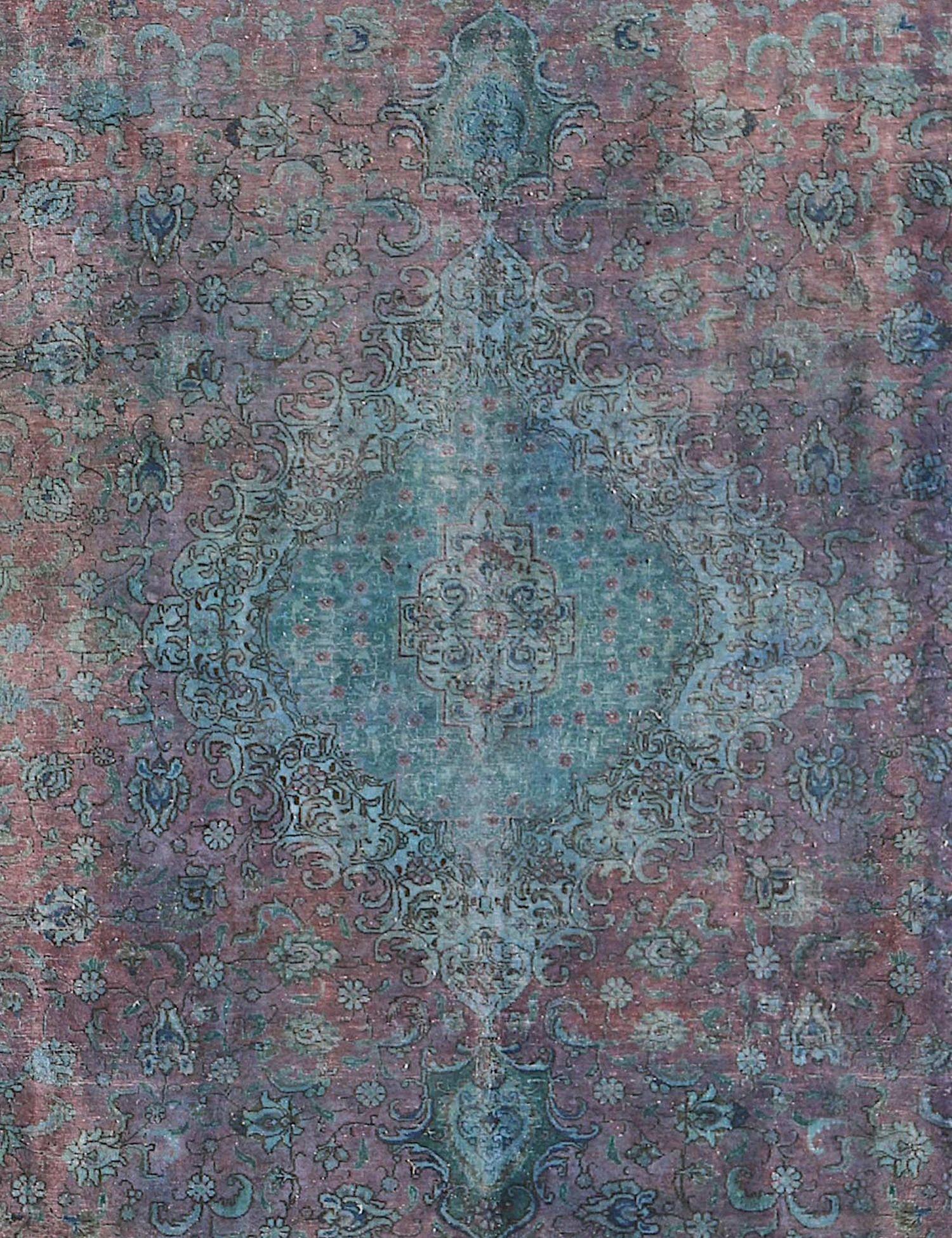 Vintage Teppich  blau <br/>380 x 303 cm