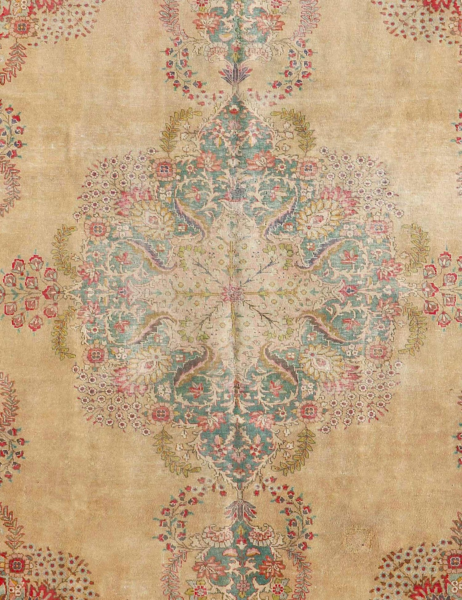 Tappeto persiano  giallo <br/>315 x 220 cm