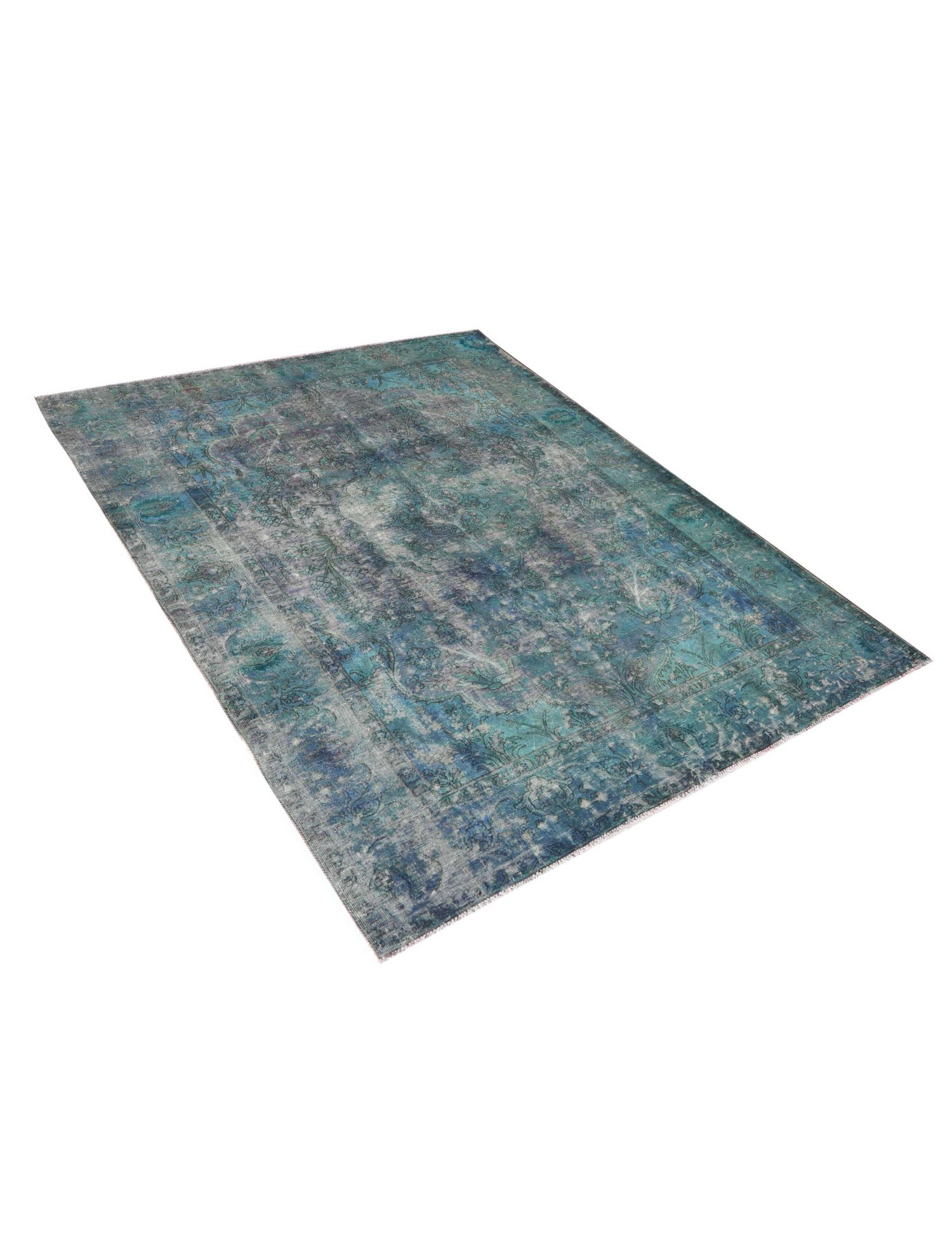 Tappeto Vintage  blu <br/>308 x 213 cm