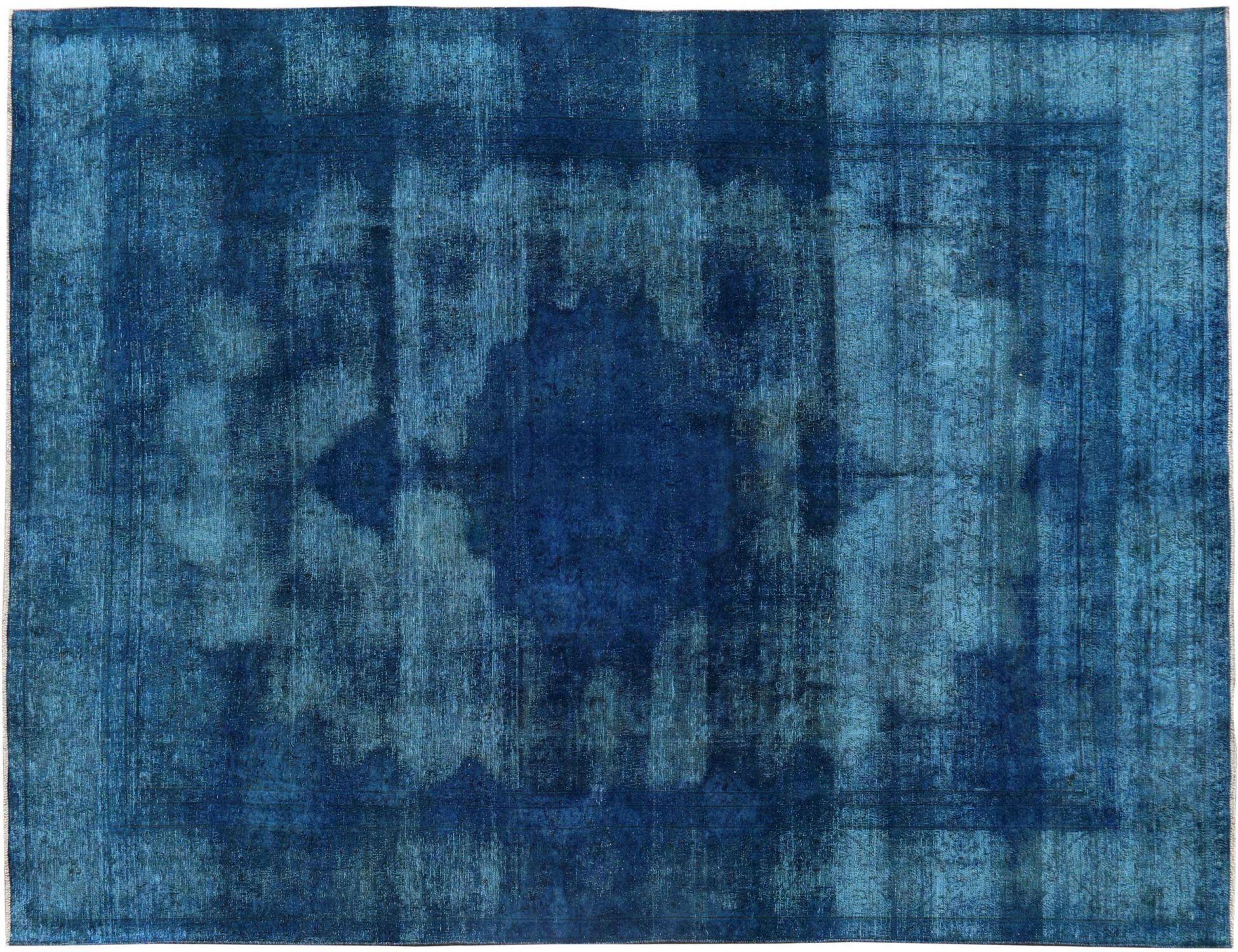 Vintage Teppich  blau <br/>400 x 288 cm