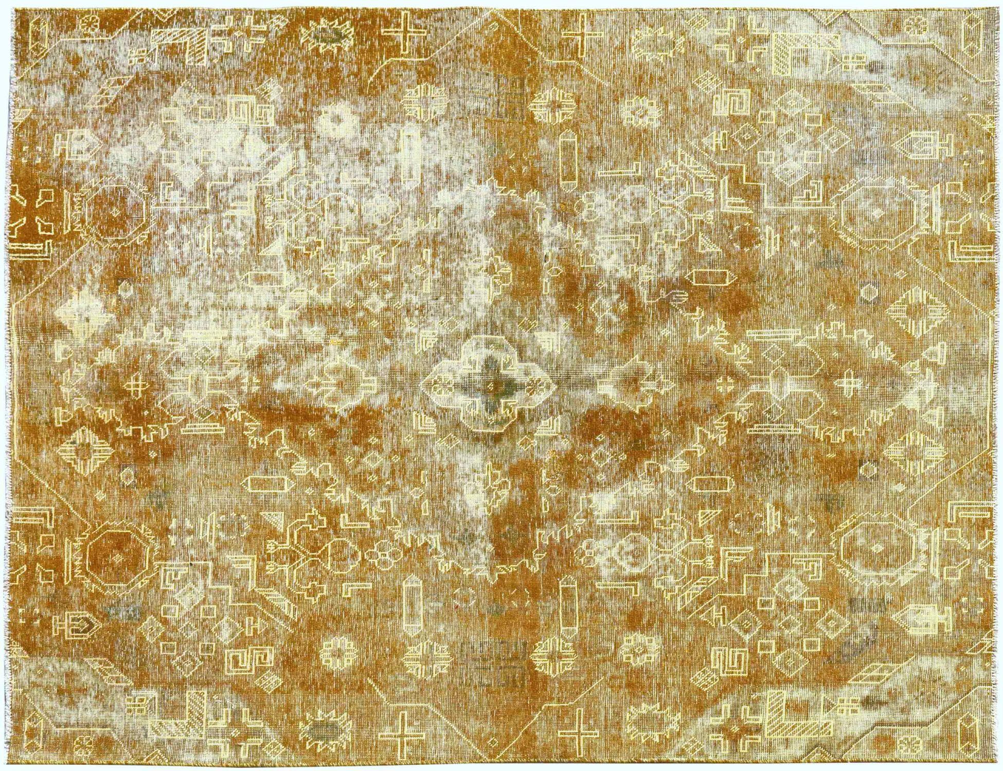 Tappeto Vintage  giallo <br/>230 x 200 cm