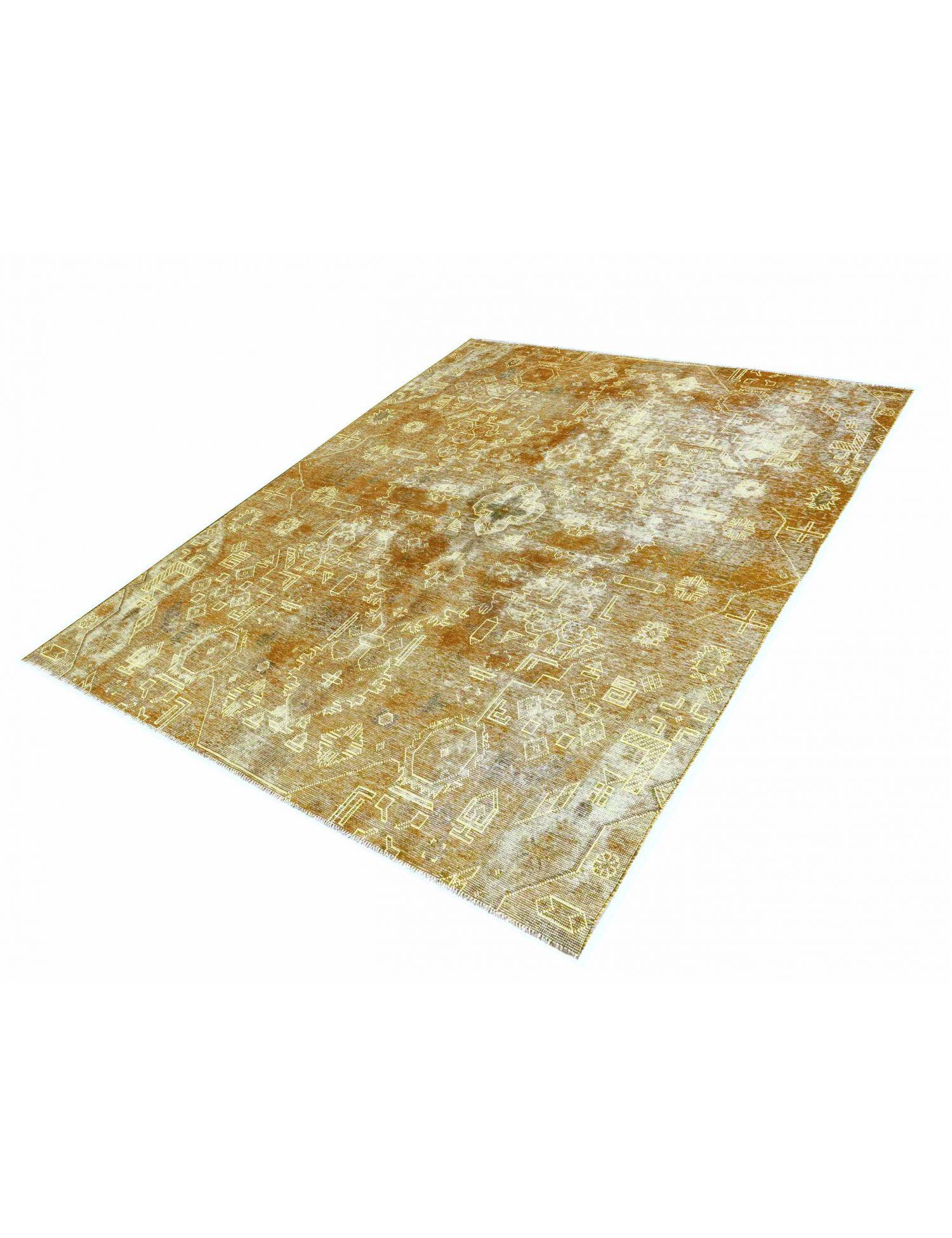 Vintage Teppich  gelb <br/>230 x 200 cm