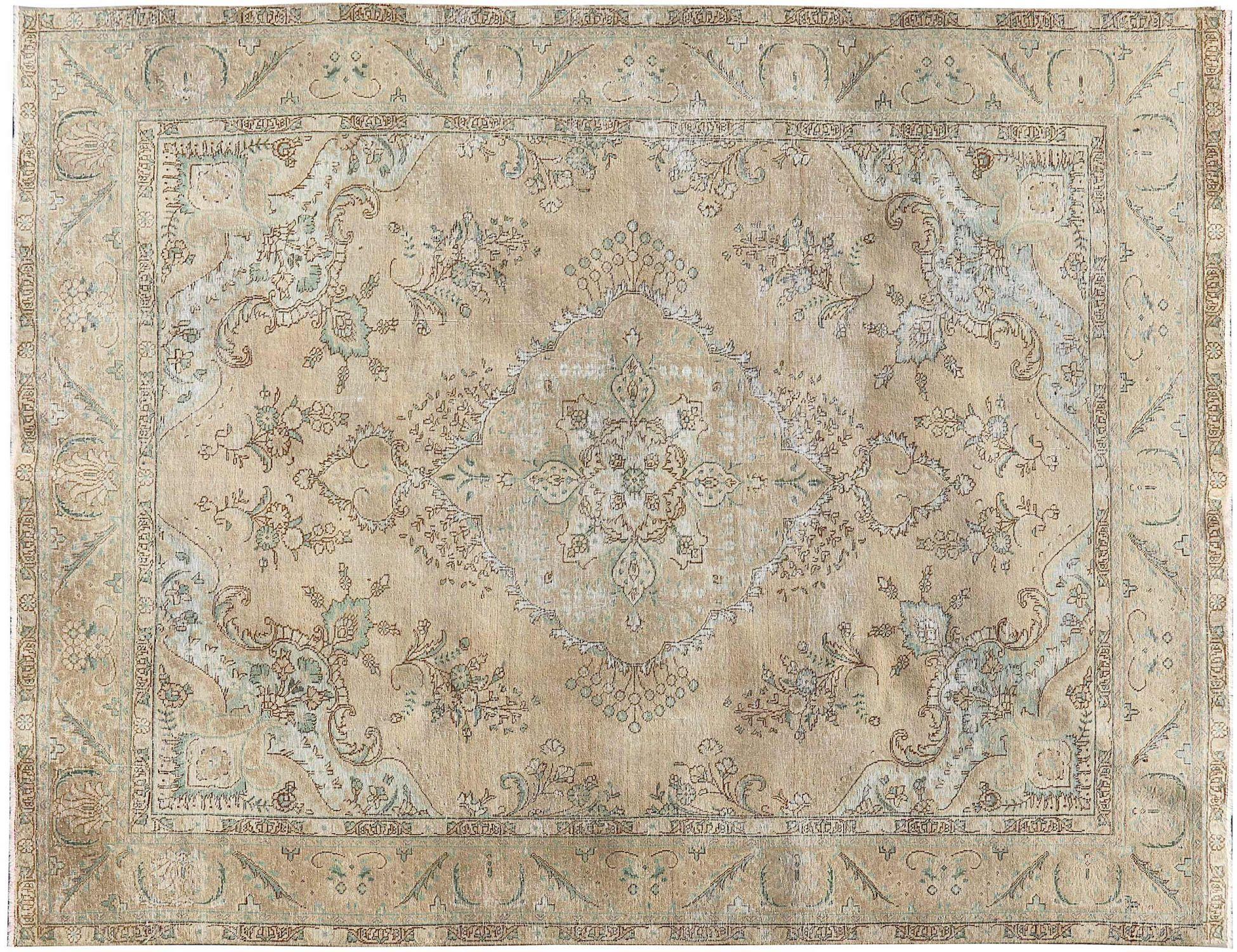 Retro Perserteppich  beige <br/>340 x 236 cm