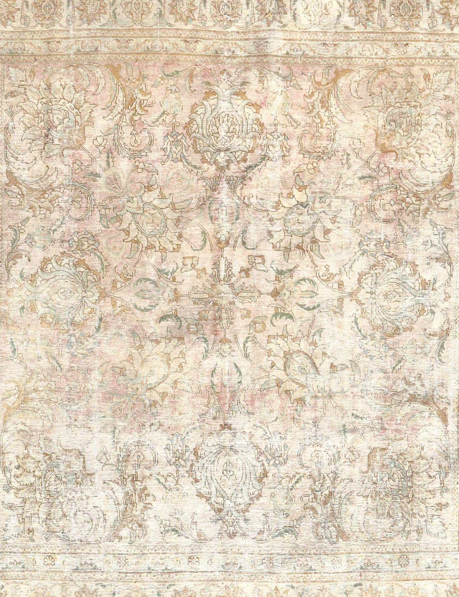Retro Perserteppich  beige <br/>280 x 308 cm