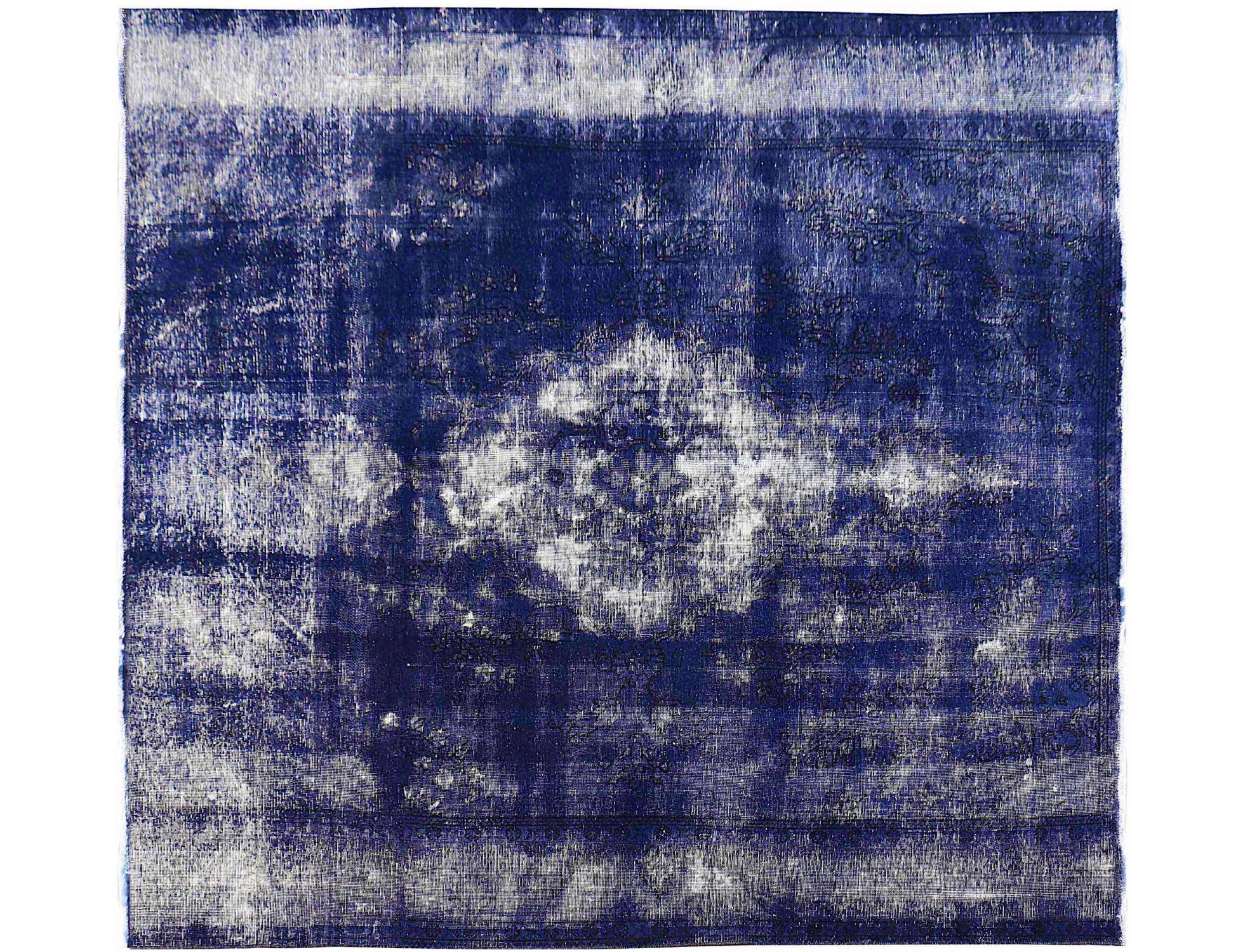 Tappeto Vintage  blu <br/>234 x 234 cm