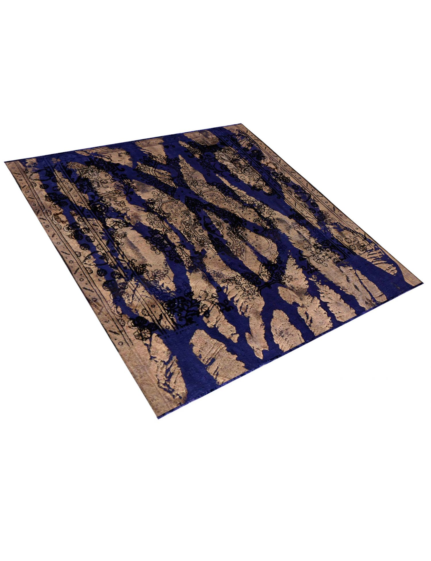 Tappeto Vintage  blu <br/>278 x 278 cm