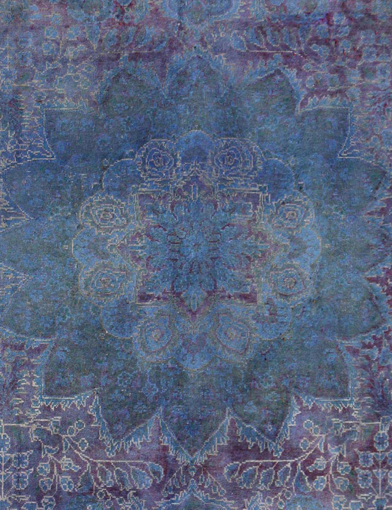 Tappeto Vintage  blu <br/>286 x 286 cm