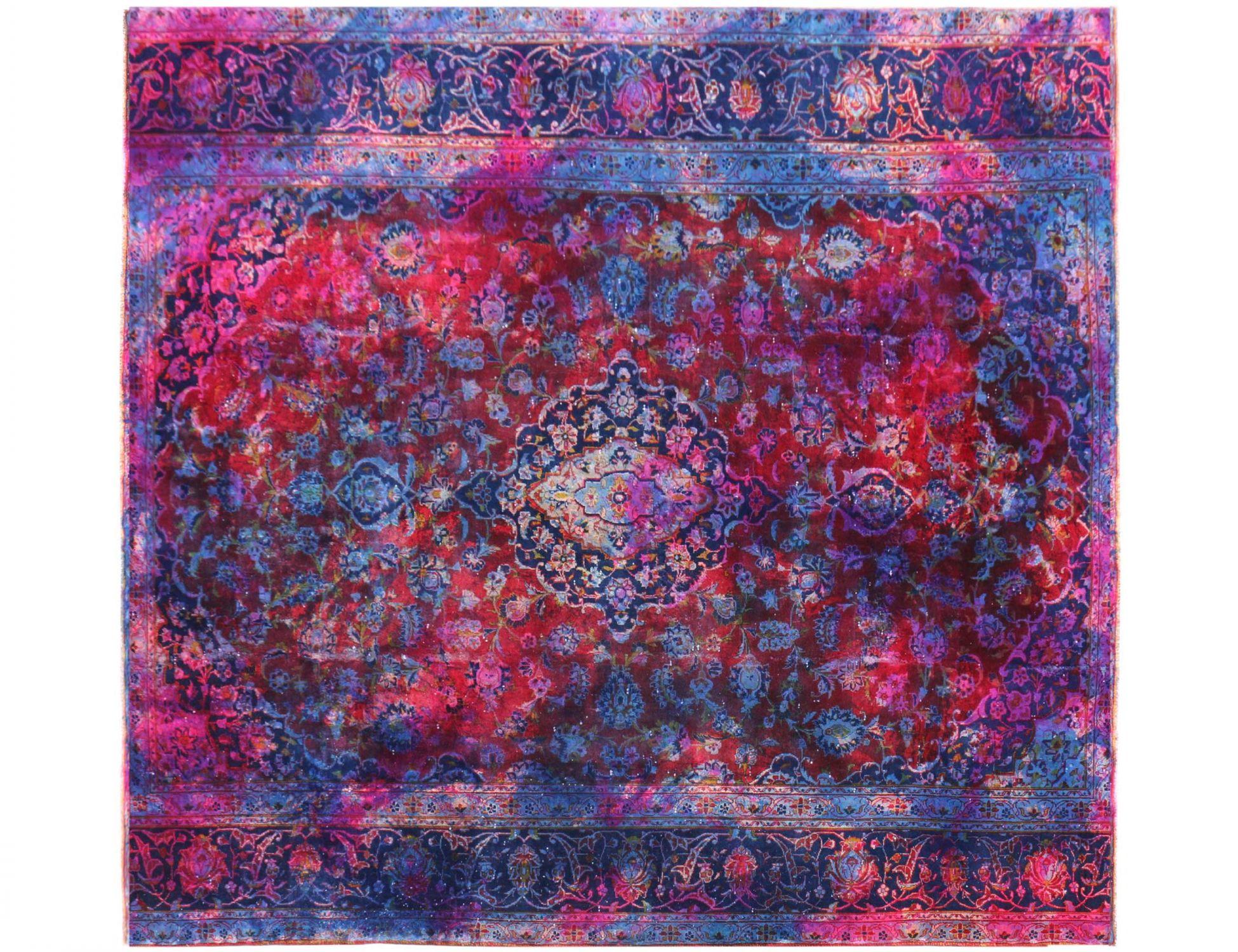 Vintage Perserteppich  blau <br/>249 x 249 cm