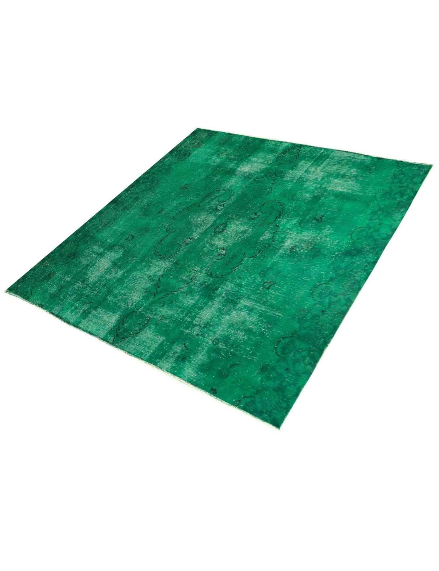 Vintage Perserteppich  grün <br/>259 x 259 cm