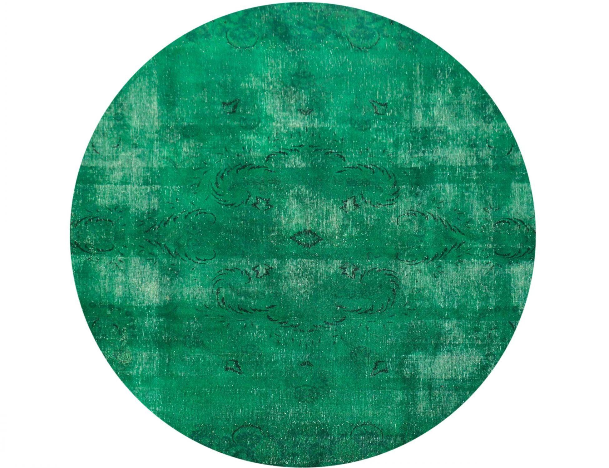Tappeto Vintage  verde <br/>259 x 259 cm