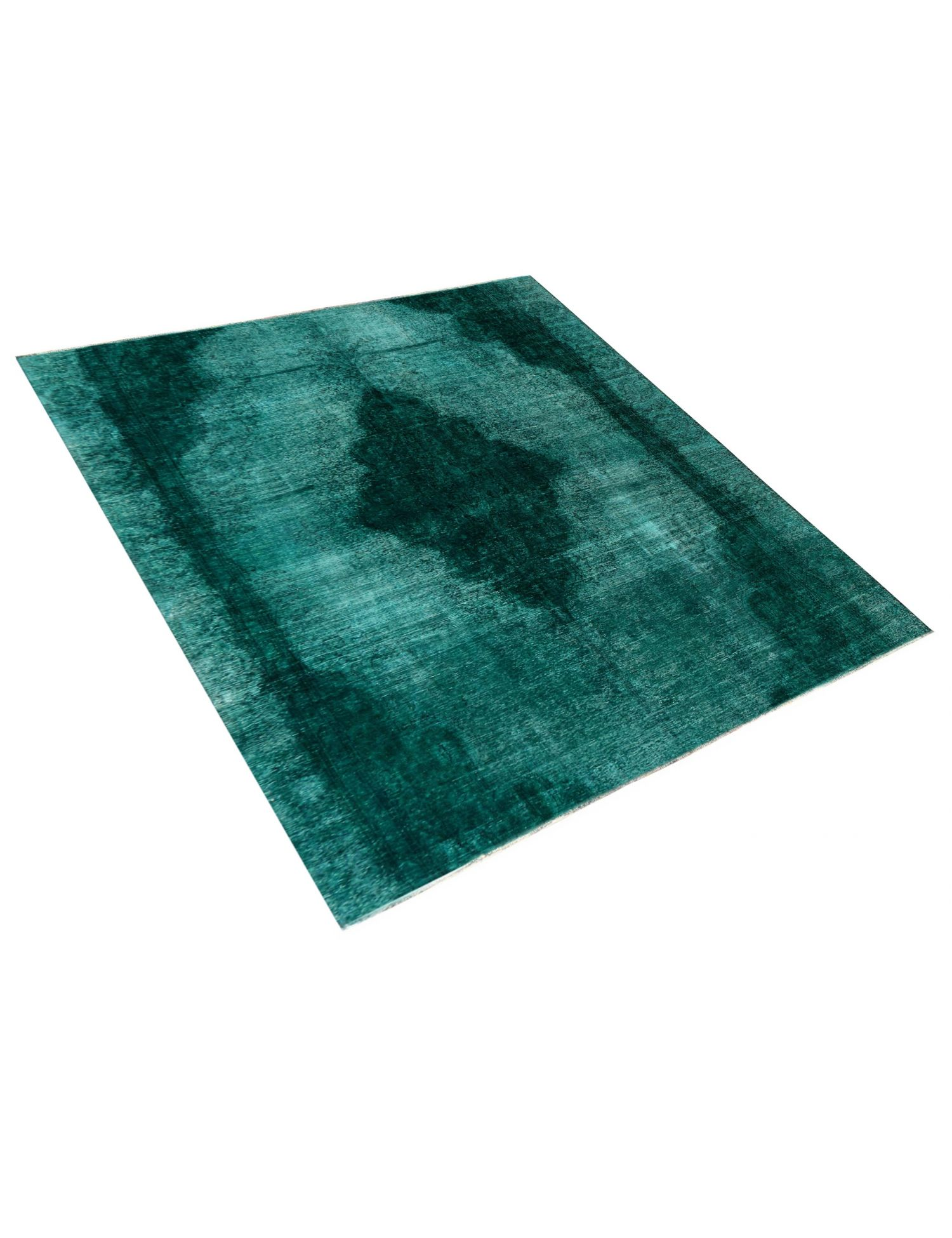 Tappeto Vintage  verde <br/>270 x 270 cm
