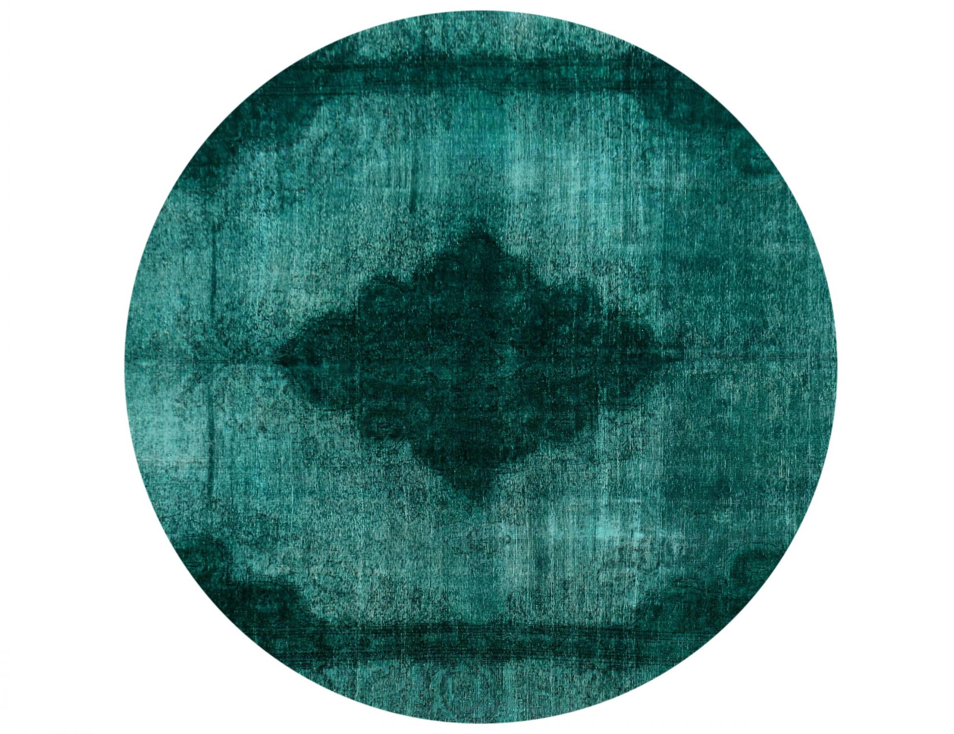 Vintage Perserteppich  grün <br/>270 x 270 cm