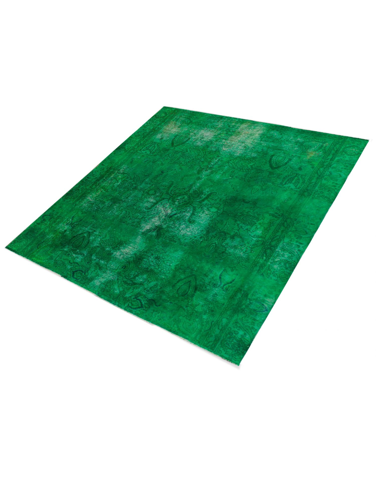 Vintage Perserteppich  grün <br/>268 x 268 cm
