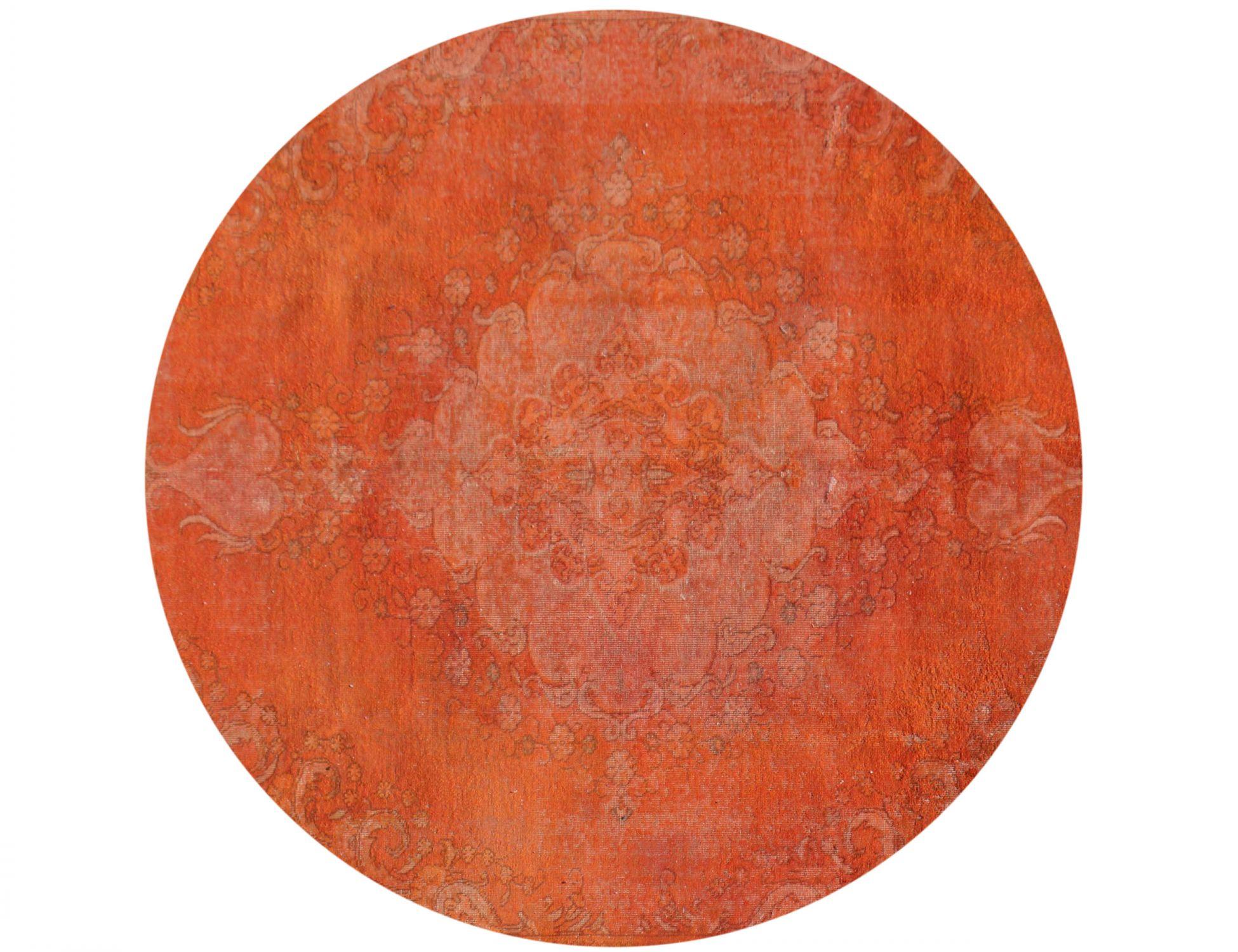 Tappeto Vintage  arancia <br/>206 x 206 cm