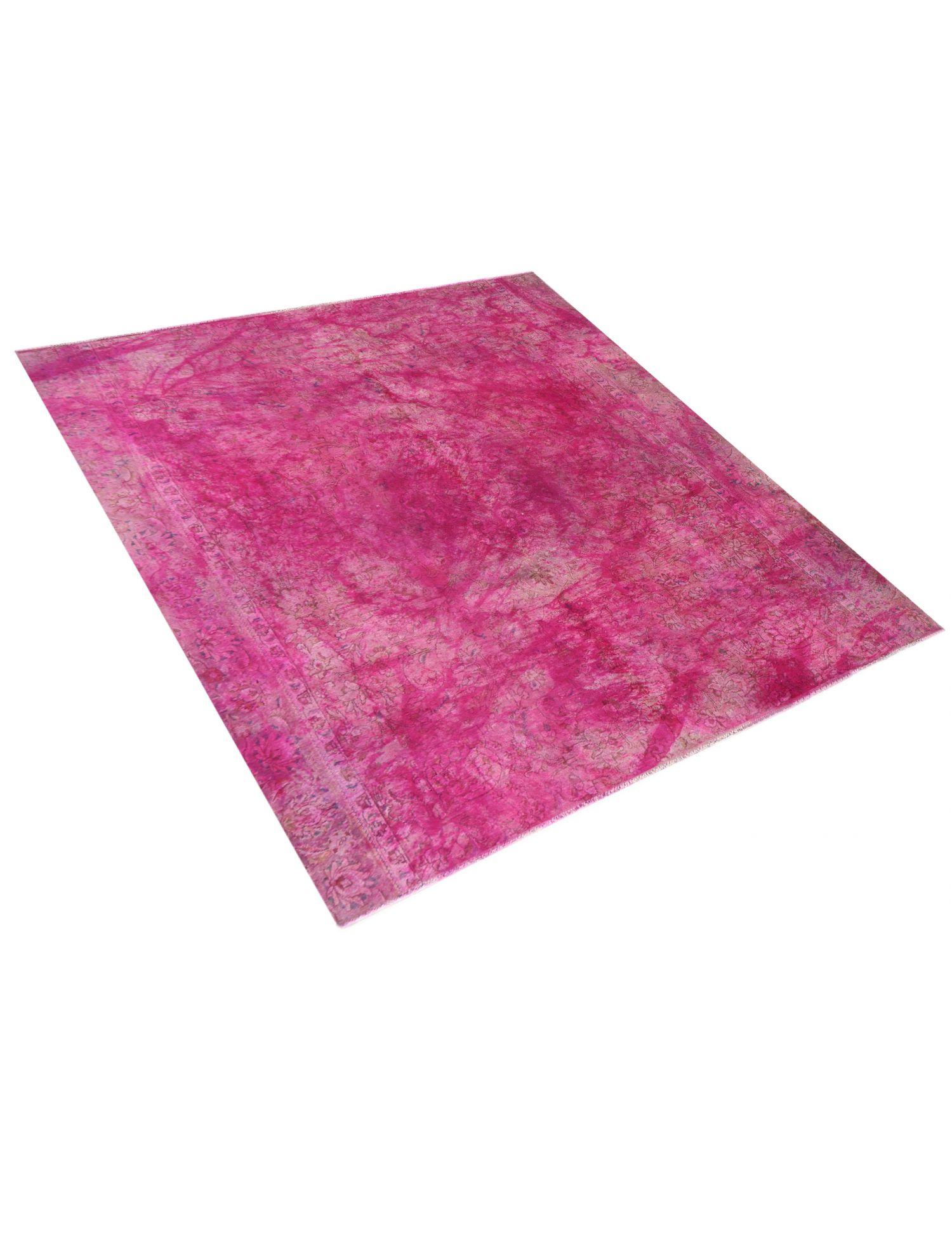 Vintage Perserteppich  rosa <br/>262 x 262 cm