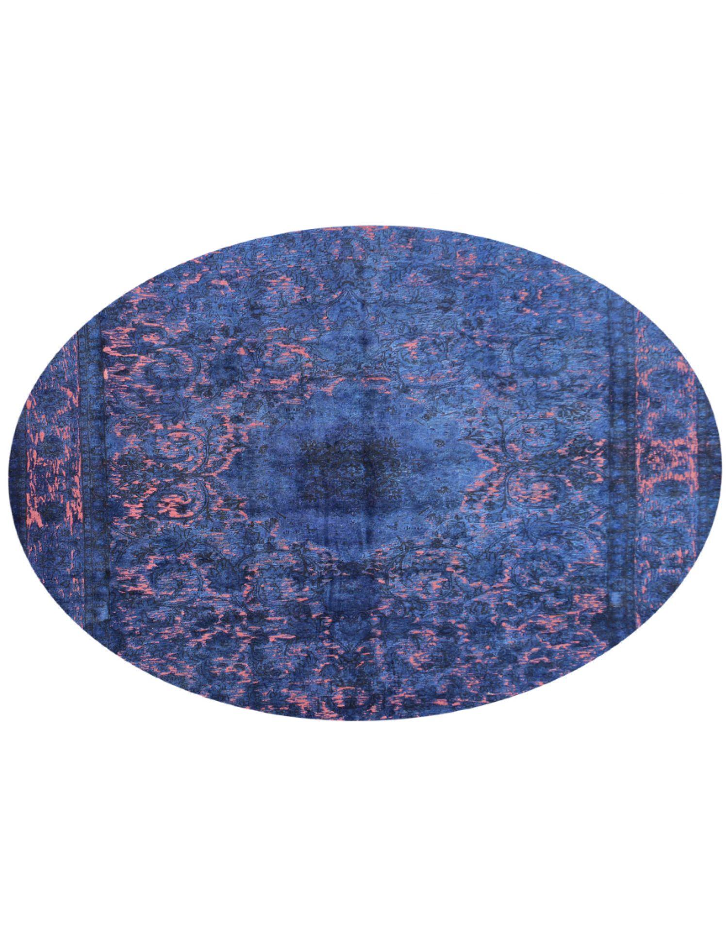 Tappeto Vintage  blu <br/>289 x 289 cm