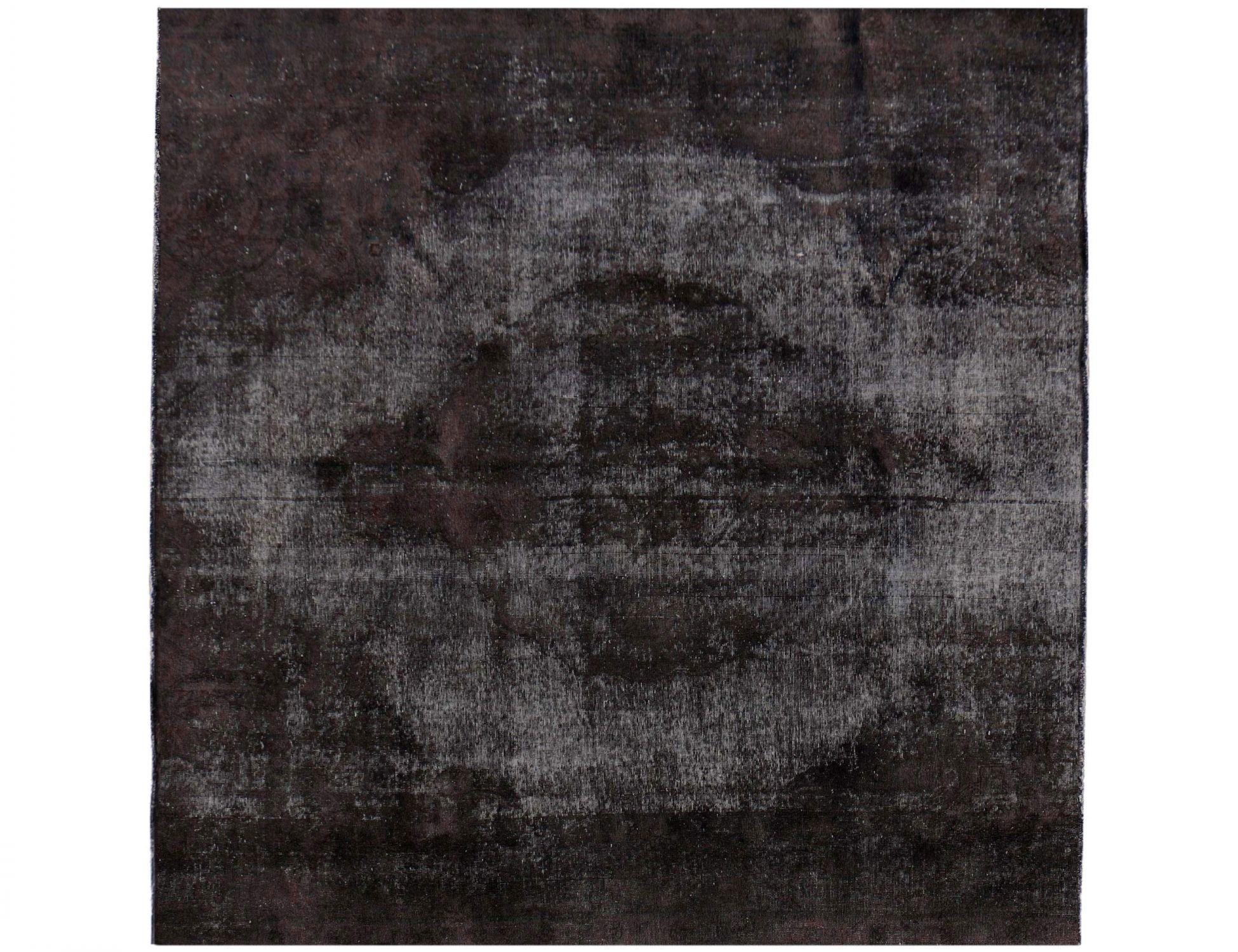 Vintage Perserteppich  schwarz <br/>280 x 280 cm