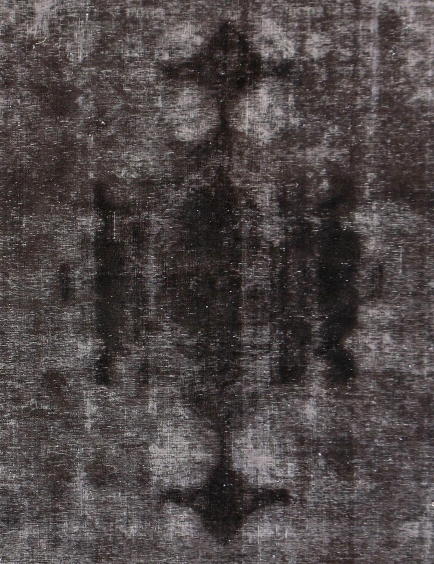Vintage Perserteppich  schwarz <br/>246 x 246 cm