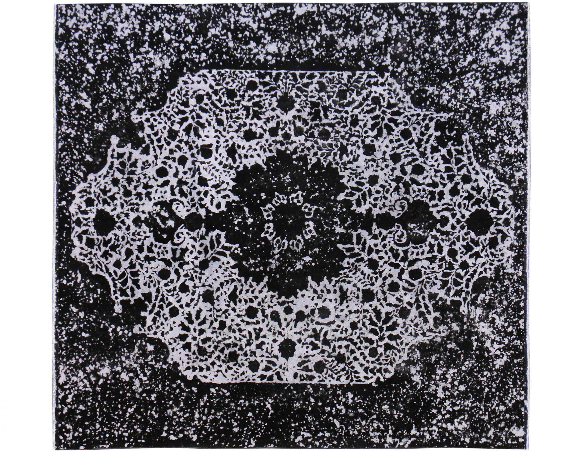 Tappeto Vintage  nero <br/>291 x 291 cm