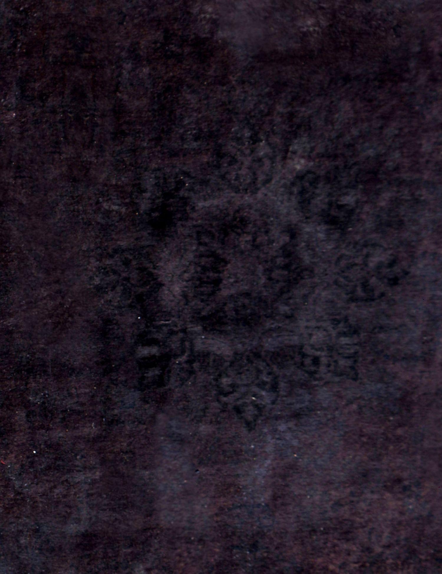 Vintage Perserteppich  schwarz <br/>288 x 288 cm