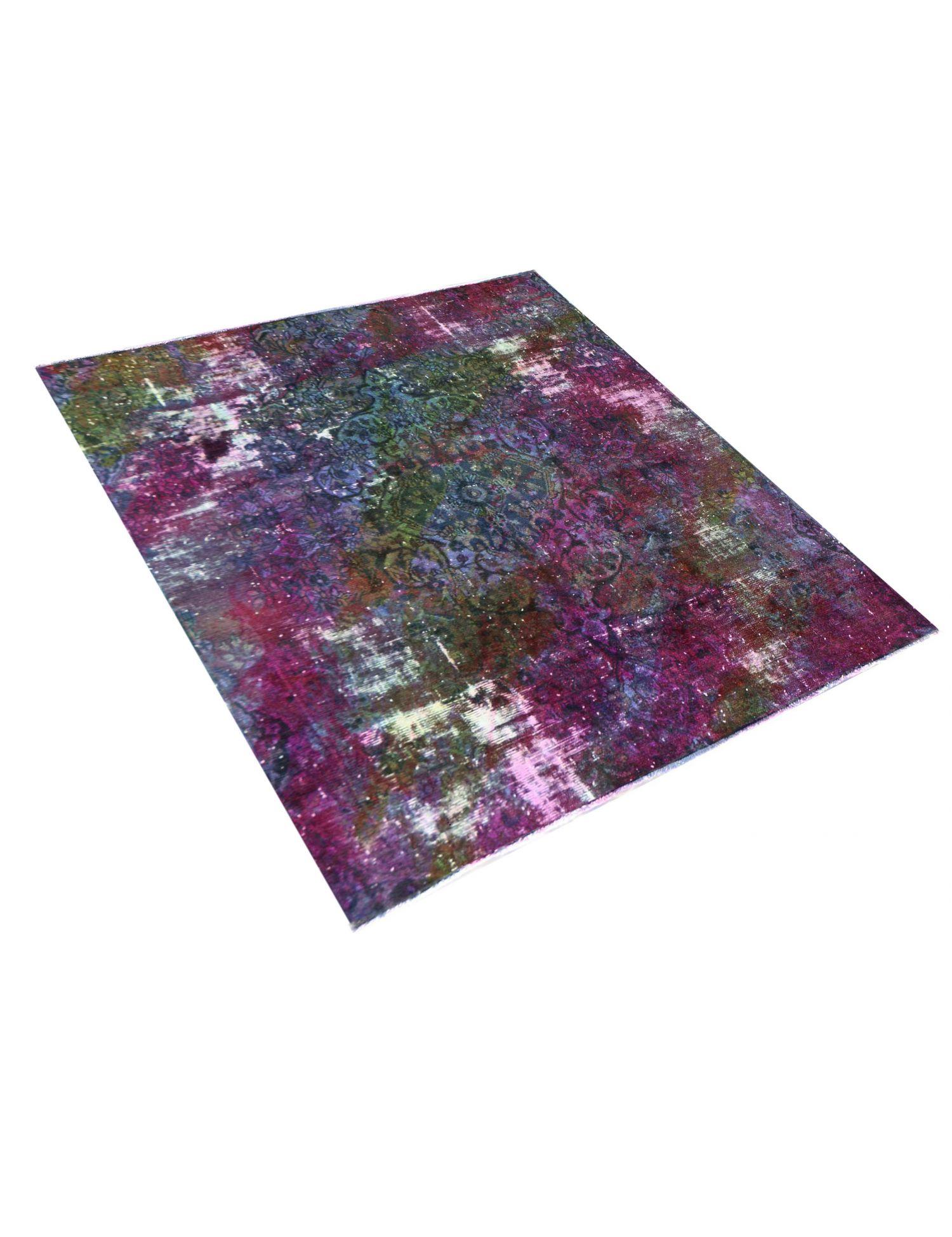 Vintage Teppich  mehrfarbig <br/>217 x 217 cm