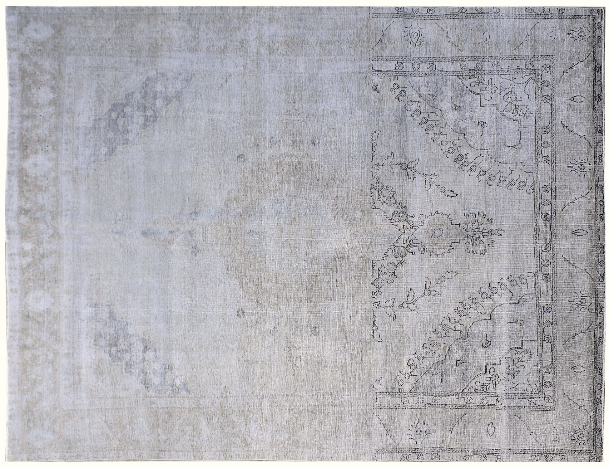 Vintage Matta  harmaa <br/>383 x 284 cm