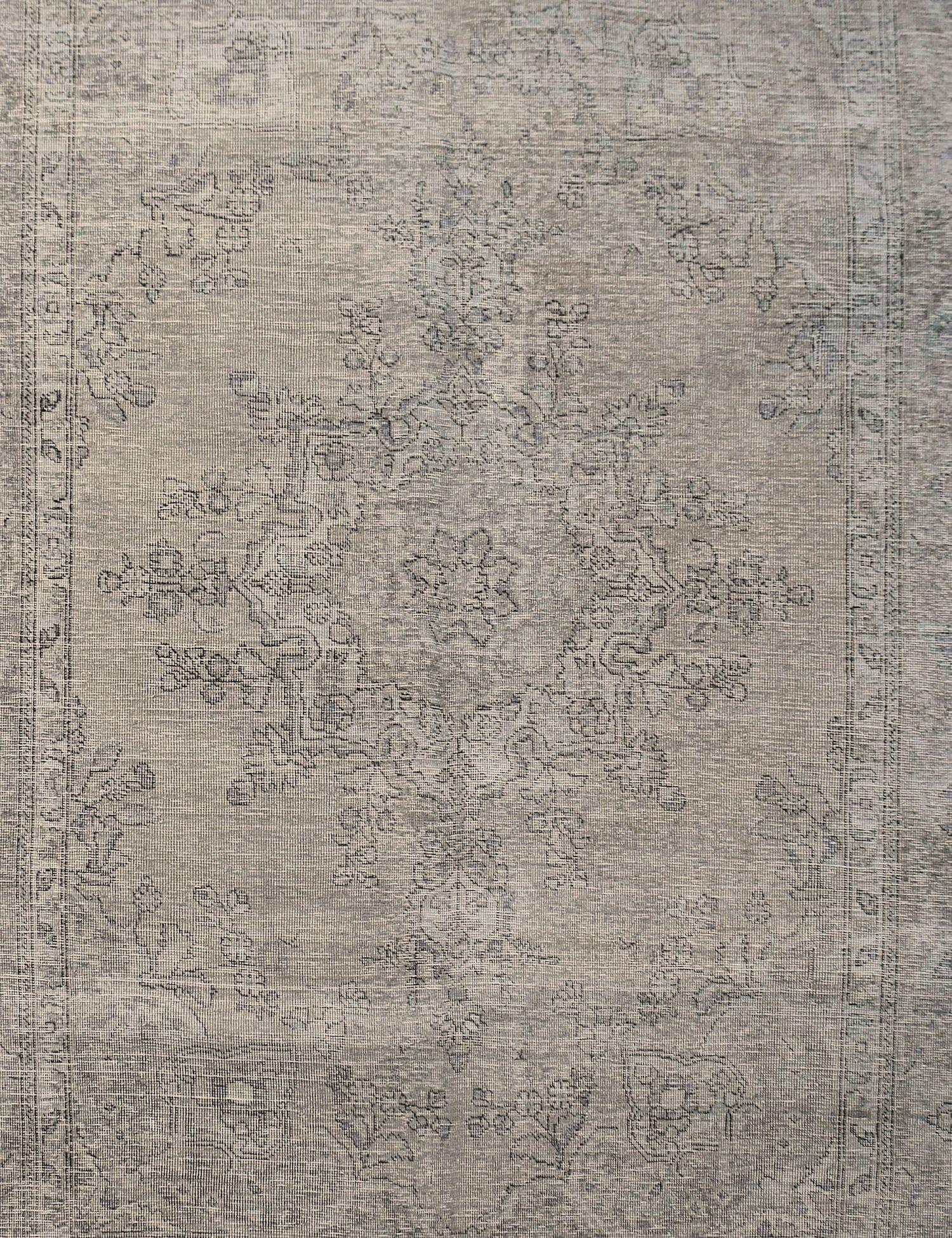 Tappeto Vintage  grigio <br/>284 x 200 cm