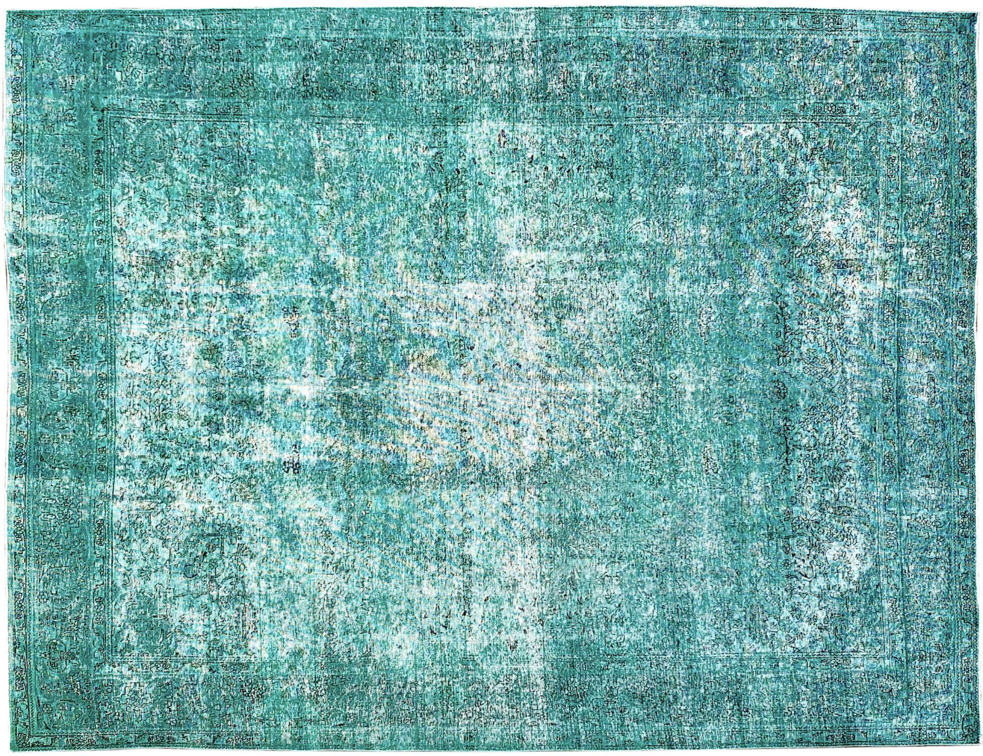 Vintage Matta  grön <br/>391 x 304 cm