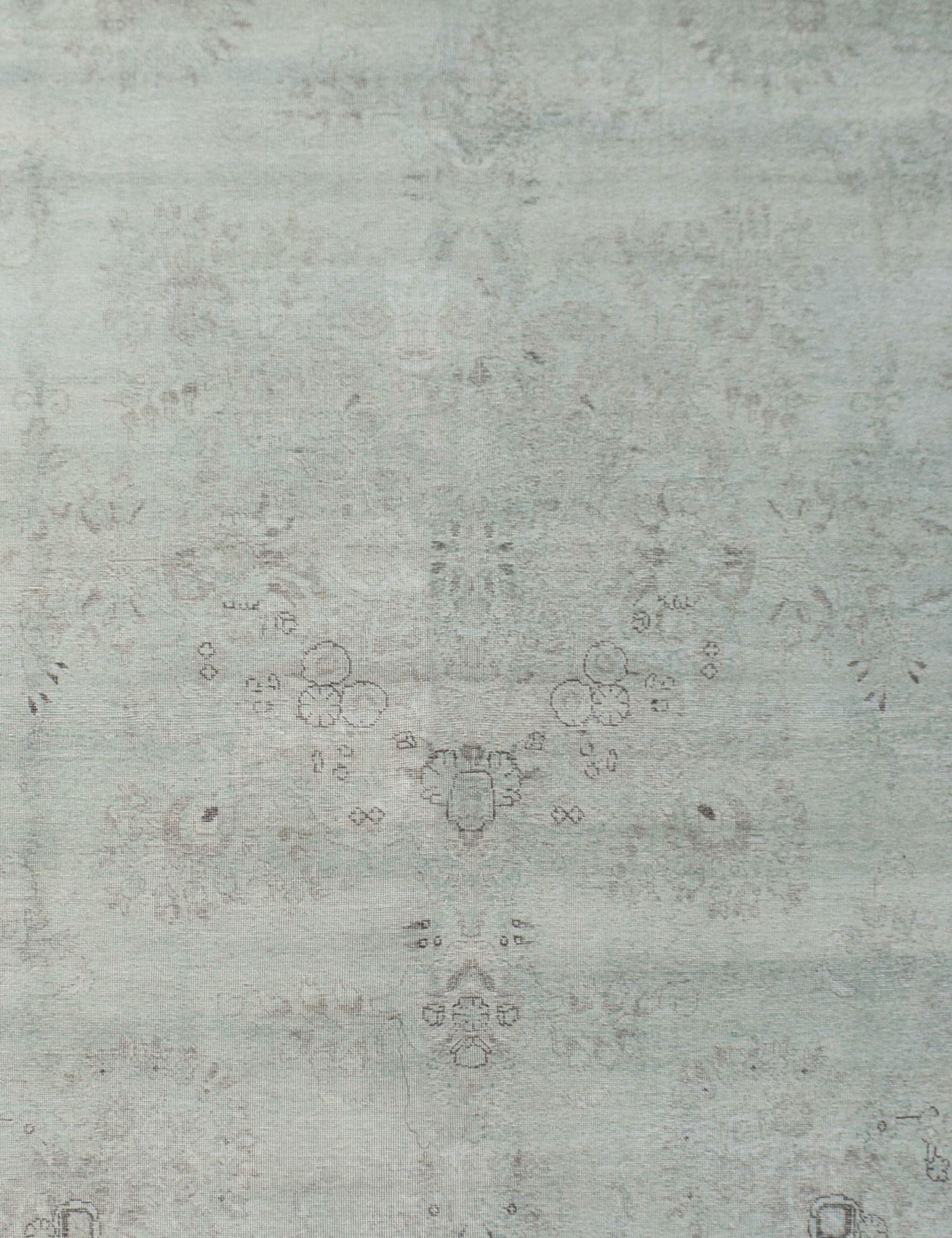Tappeto Vintage  verde <br/>378 x 288 cm