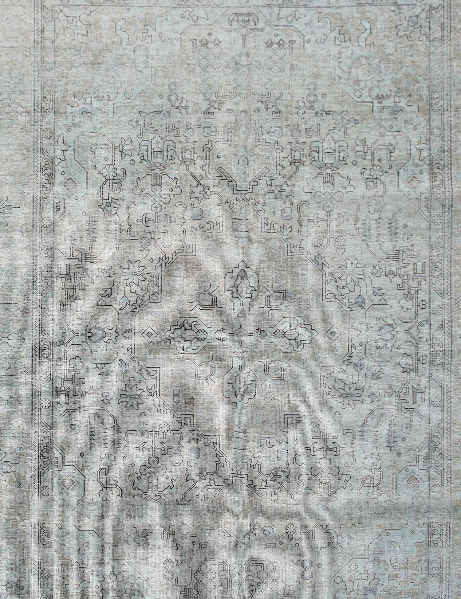 Tappeto Vintage  verde <br/>277 x 198 cm