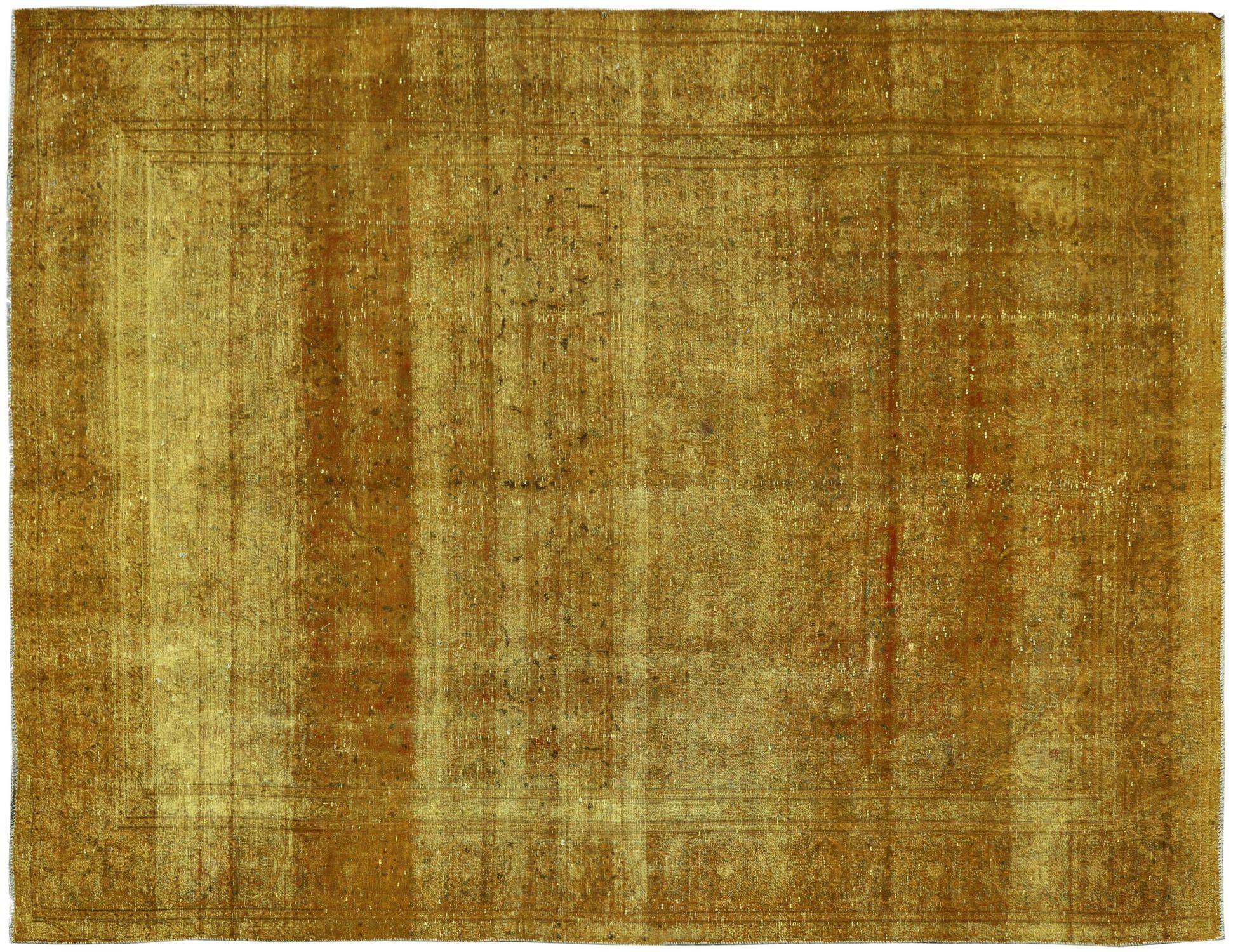 Tappeto Vintage  giallo <br/>381 x 271 cm
