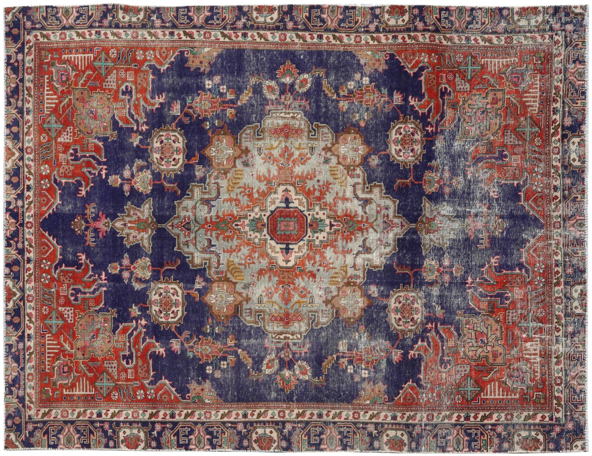 Retro  blu <br/>301 x 204 cm