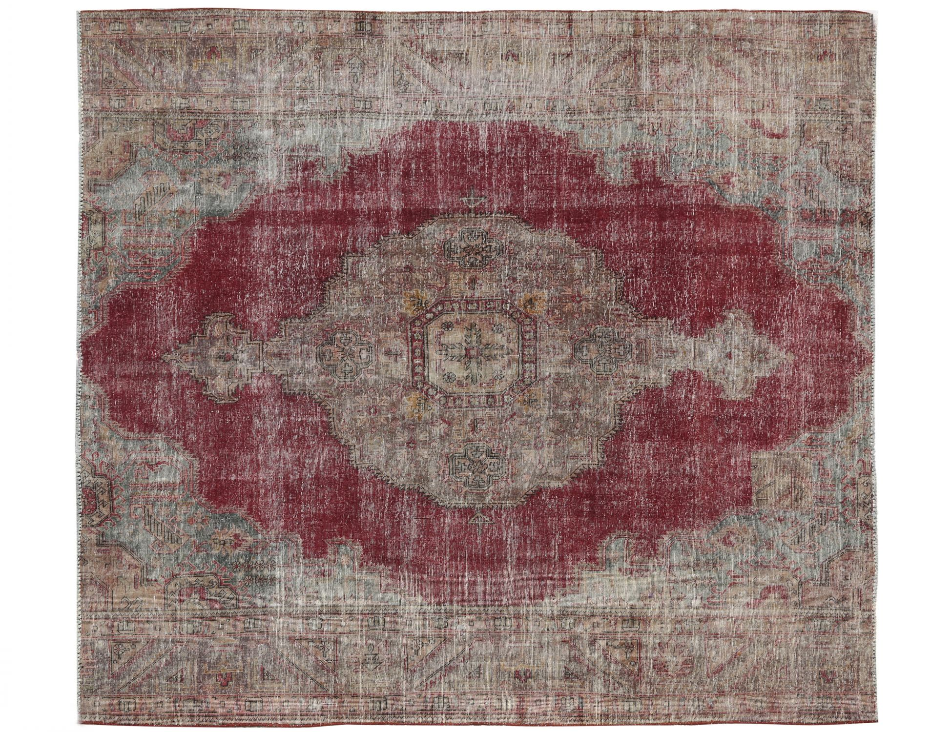 Stonewash  rosso <br/>302 x 292 cm