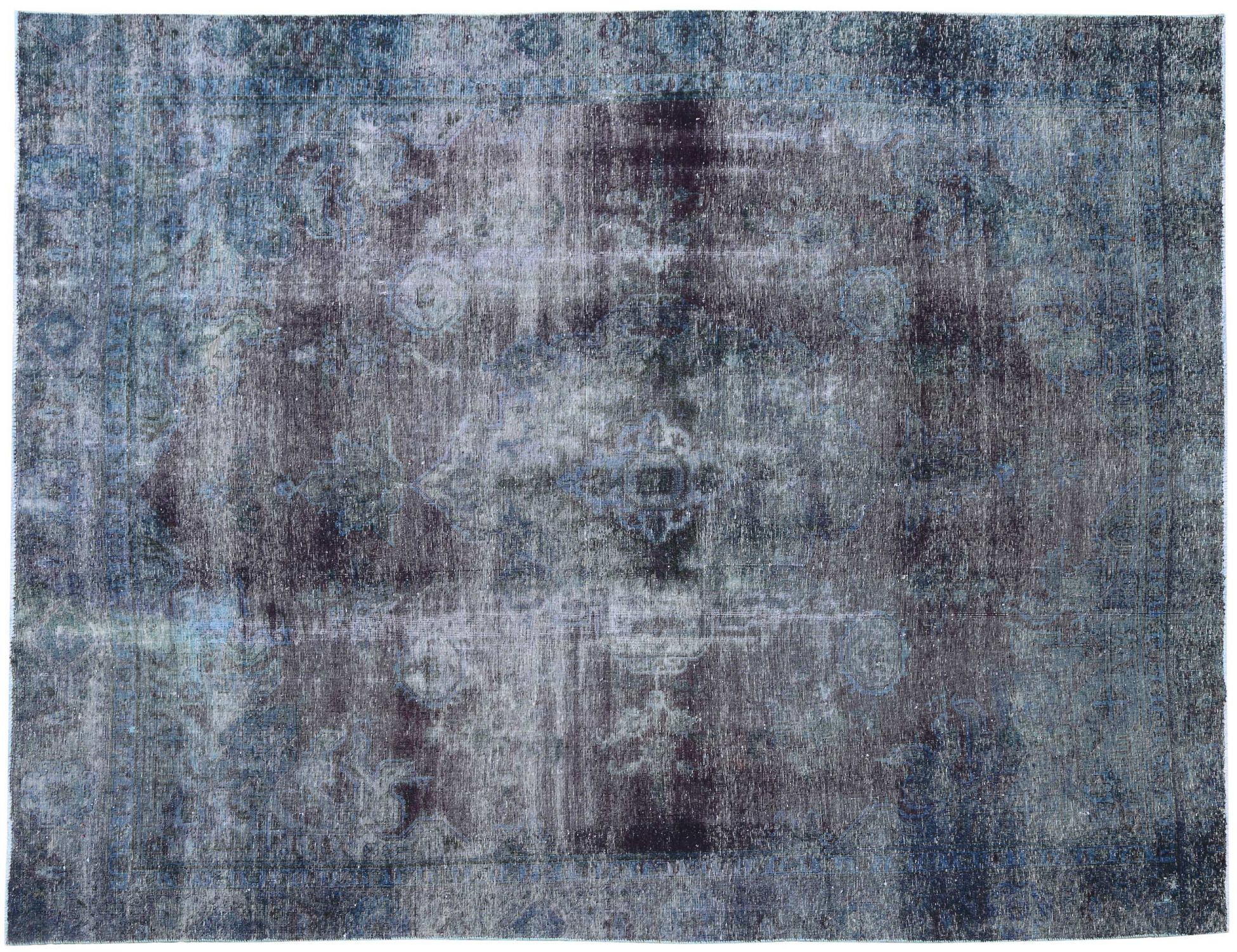 Tappeto Vintage  blu <br/>353 x 264 cm