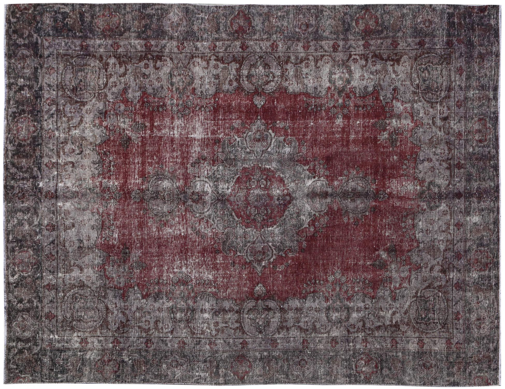 Tappeto Vintage  grigio <br/>341 x 265 cm