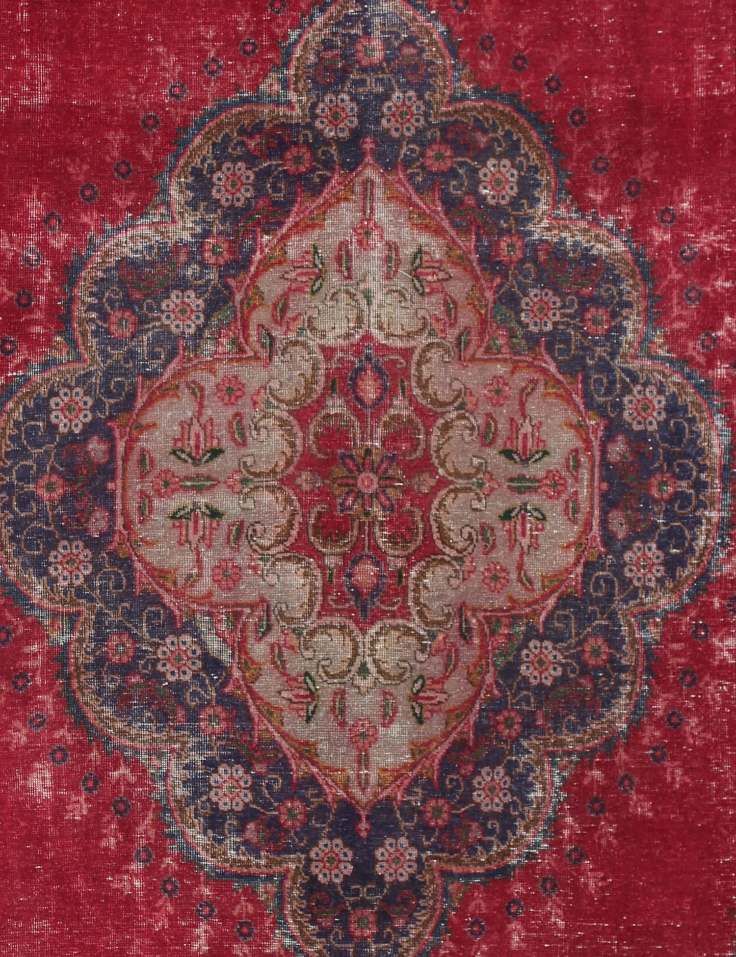Stonewash  rosso <br/>297 x 200 cm