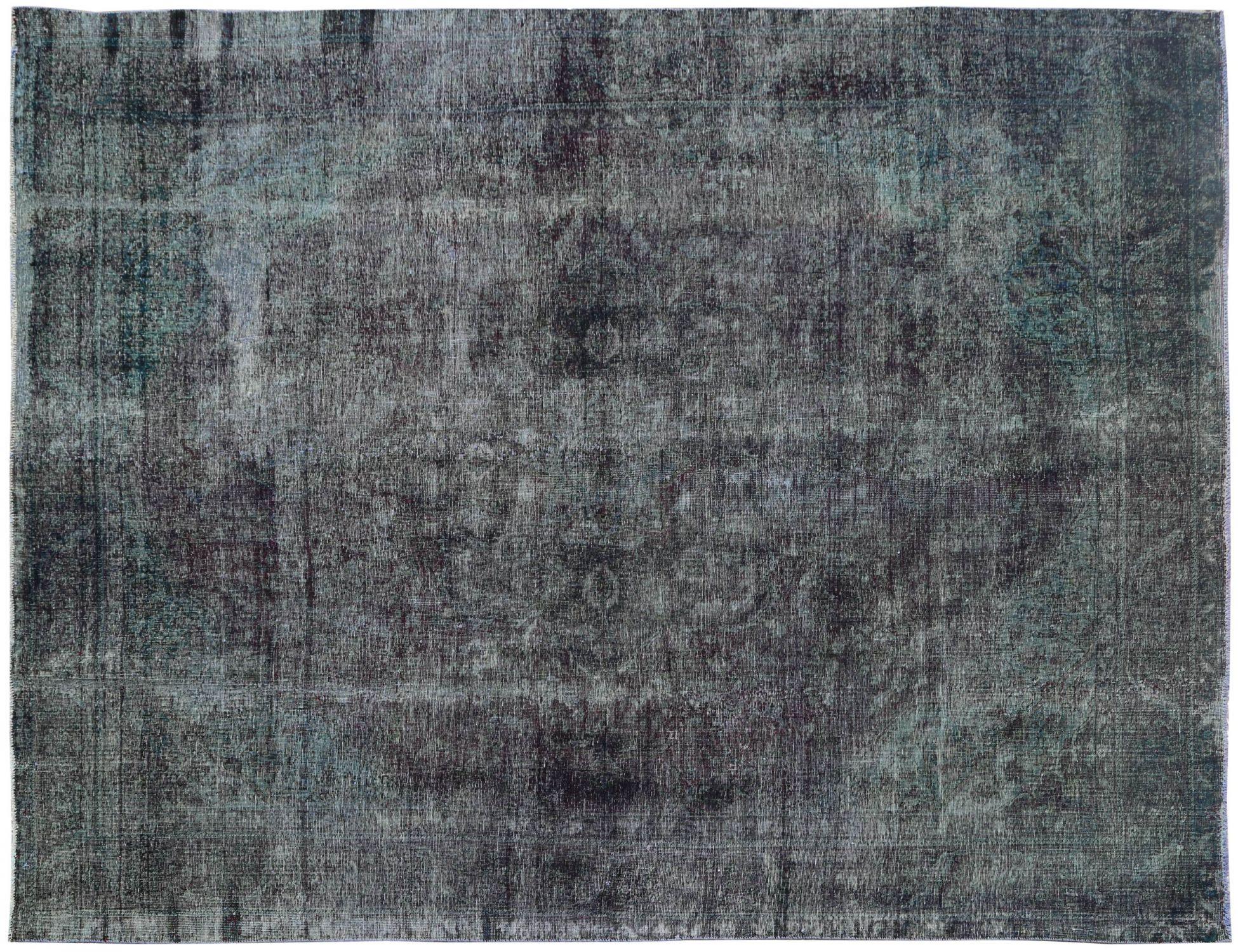 Vintage Teppich  grün <br/>387 x 293 cm