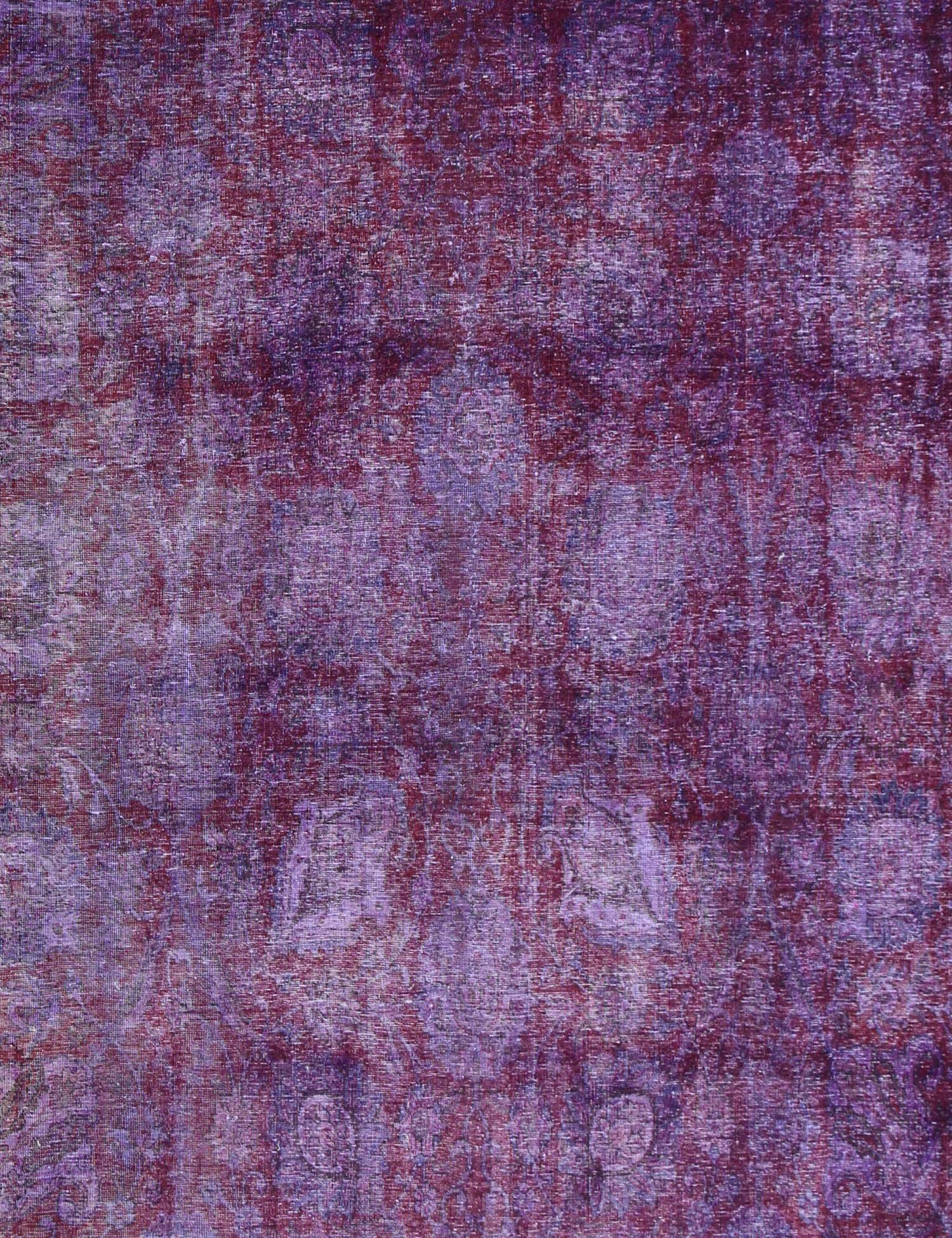 Tappeto Vintage  viola <br/>398 x 327 cm