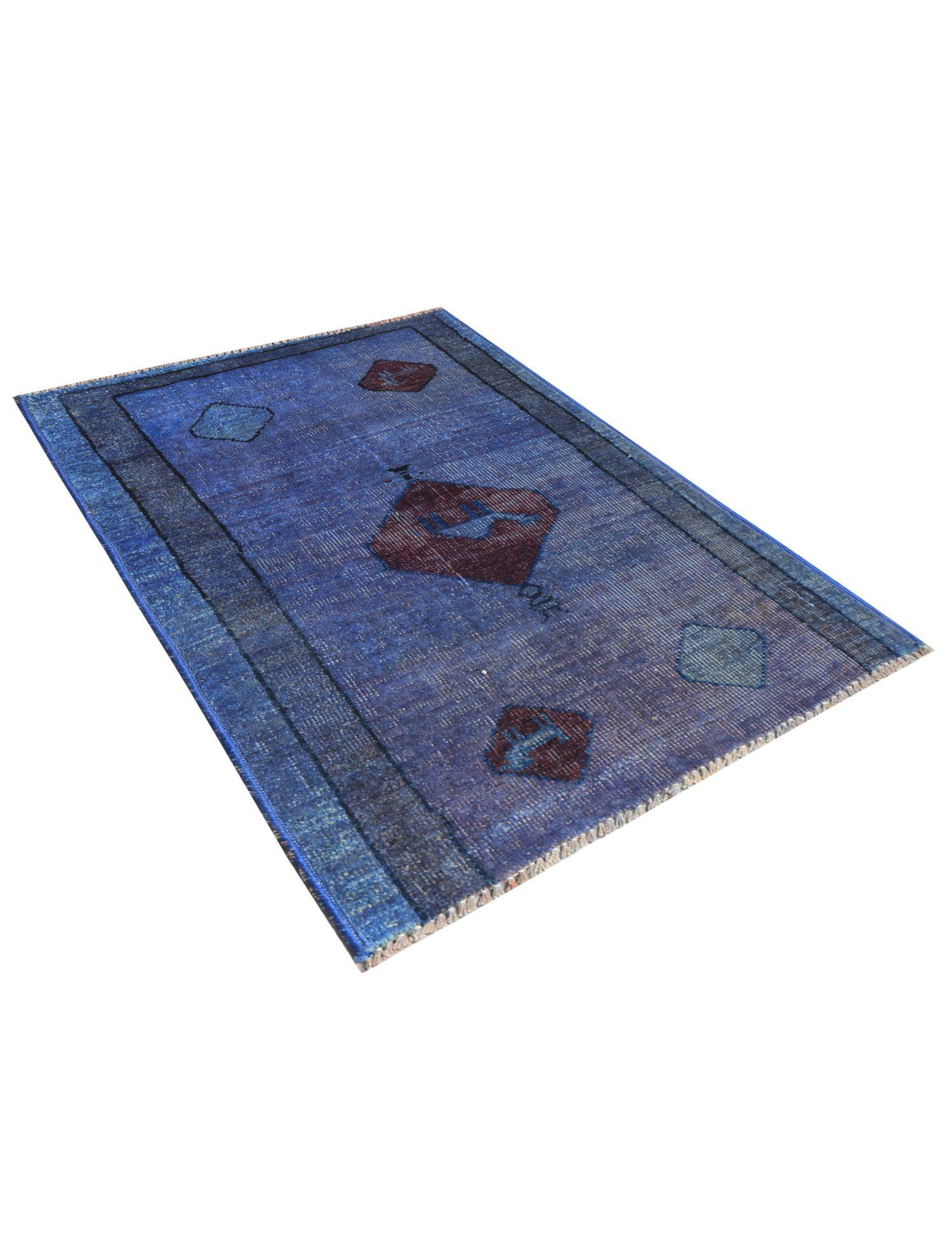 Tappeto Vintage  blu <br/>100 x 66 cm